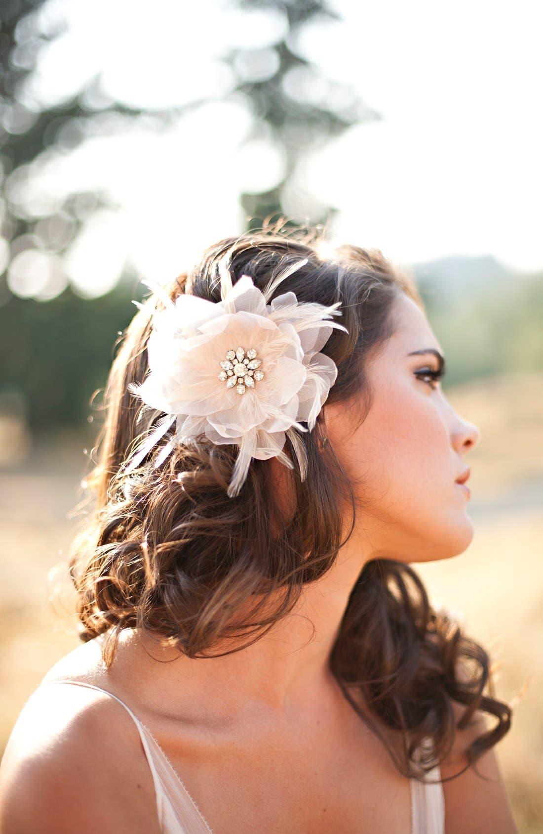 Alternate Image 2  - Serephine 'Renee' Bridal Hair Flower