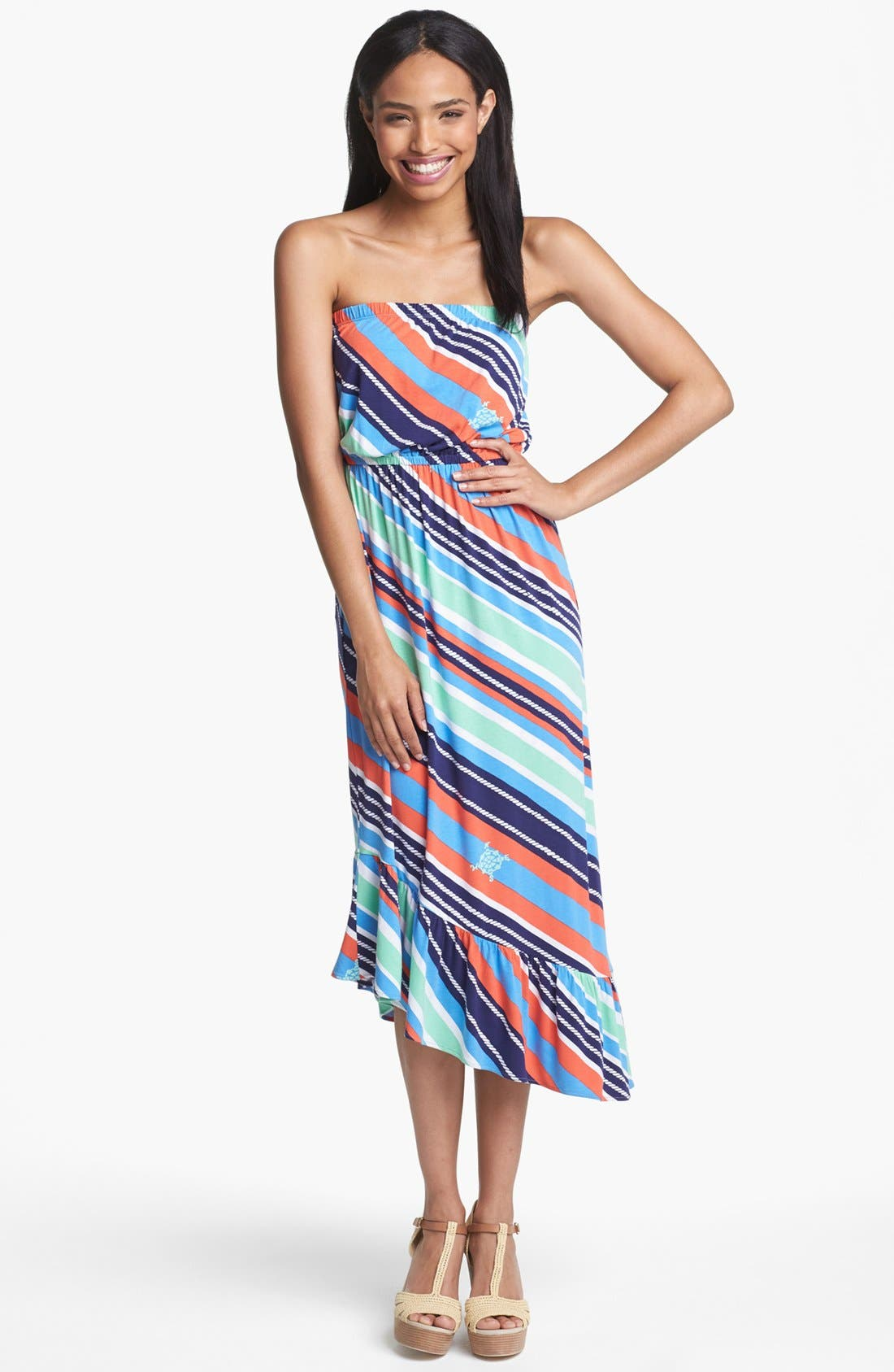 Alternate Image 1 Selected - Lilly Pulitzer® 'Meridien' Stripe Dress