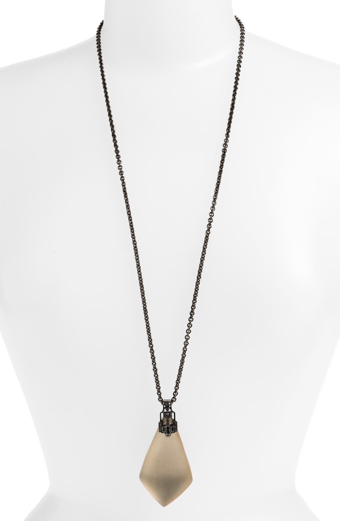 Main Image - Alexis Bittar 'Lucite® - Deco' Long Pendant Necklace (Nordstrom Exclusive)
