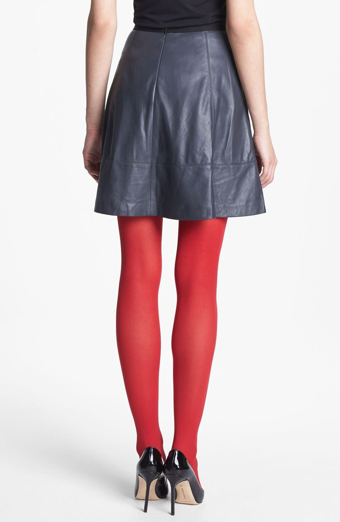 Alternate Image 2  - Miss Wu Leather Circle Skirt (Nordstrom Exclusive)