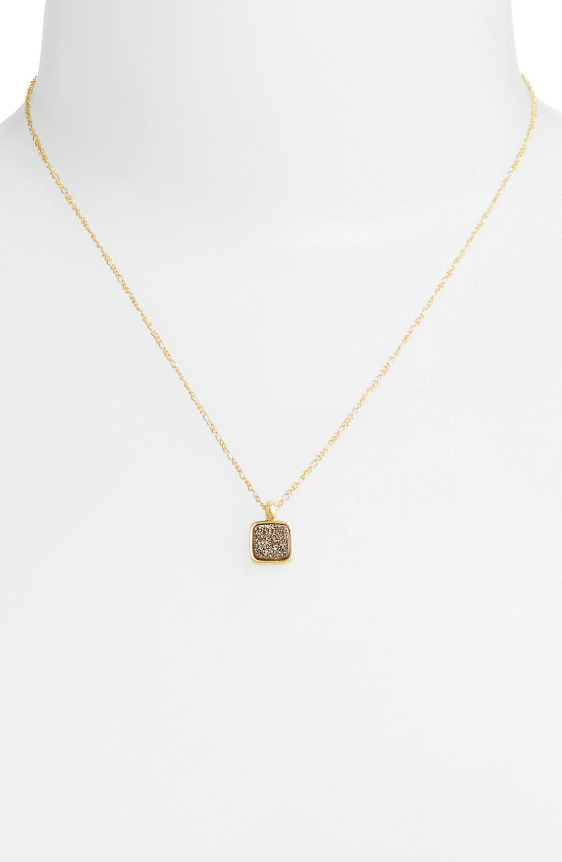 Main Image - Marcia Moran 'Drusy Extravaganza' Pendant Necklace (Online Only)