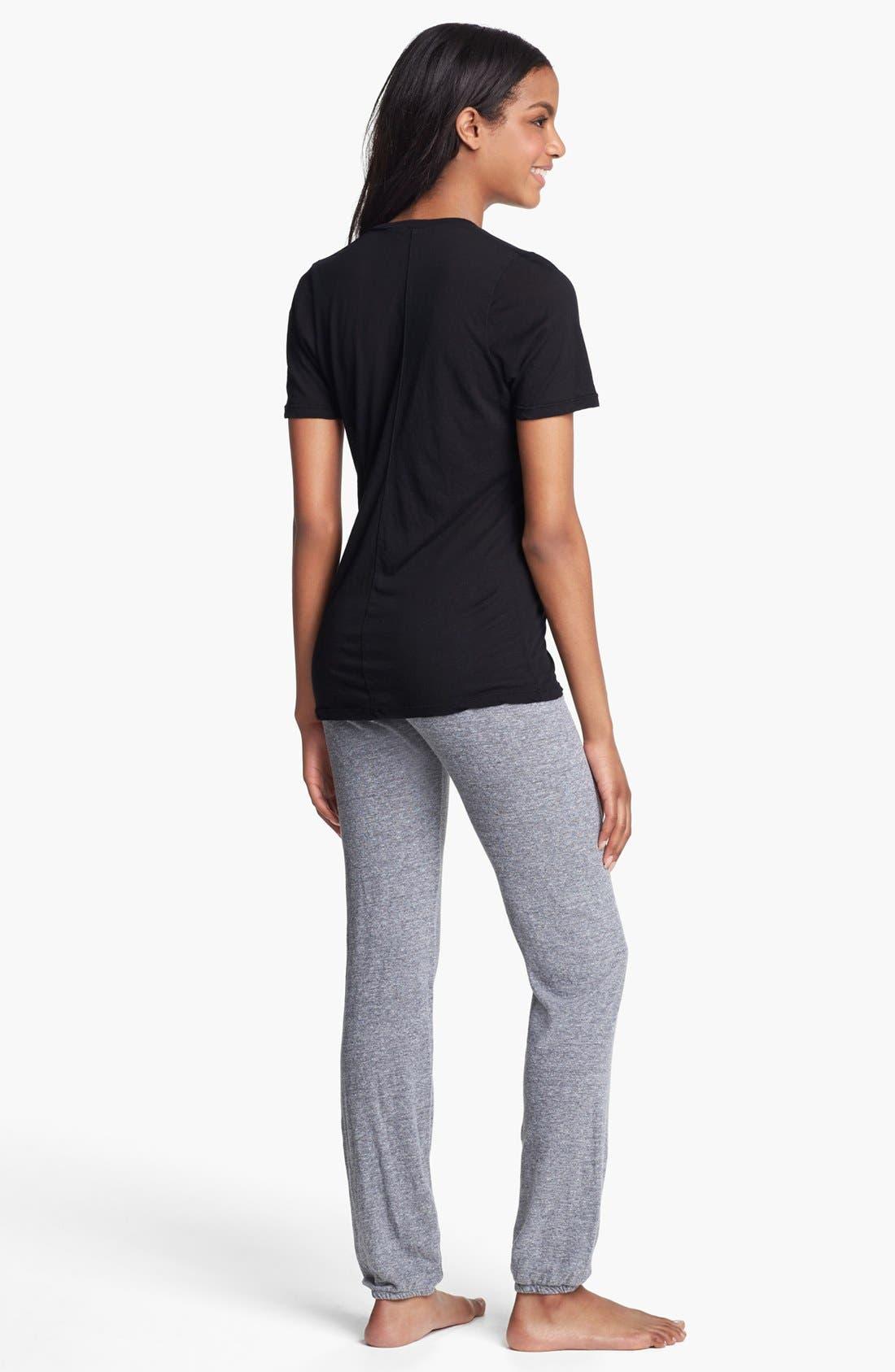 Alternate Image 4  - Monrow Vintage Granite Jersey Sweatpants