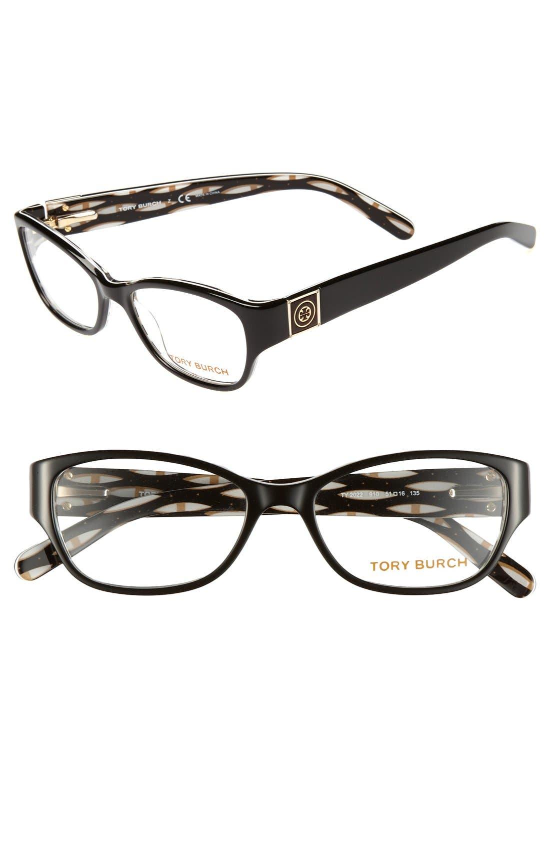 Alternate Image 1 Selected - Tory Burch 51mm Optical Glasses