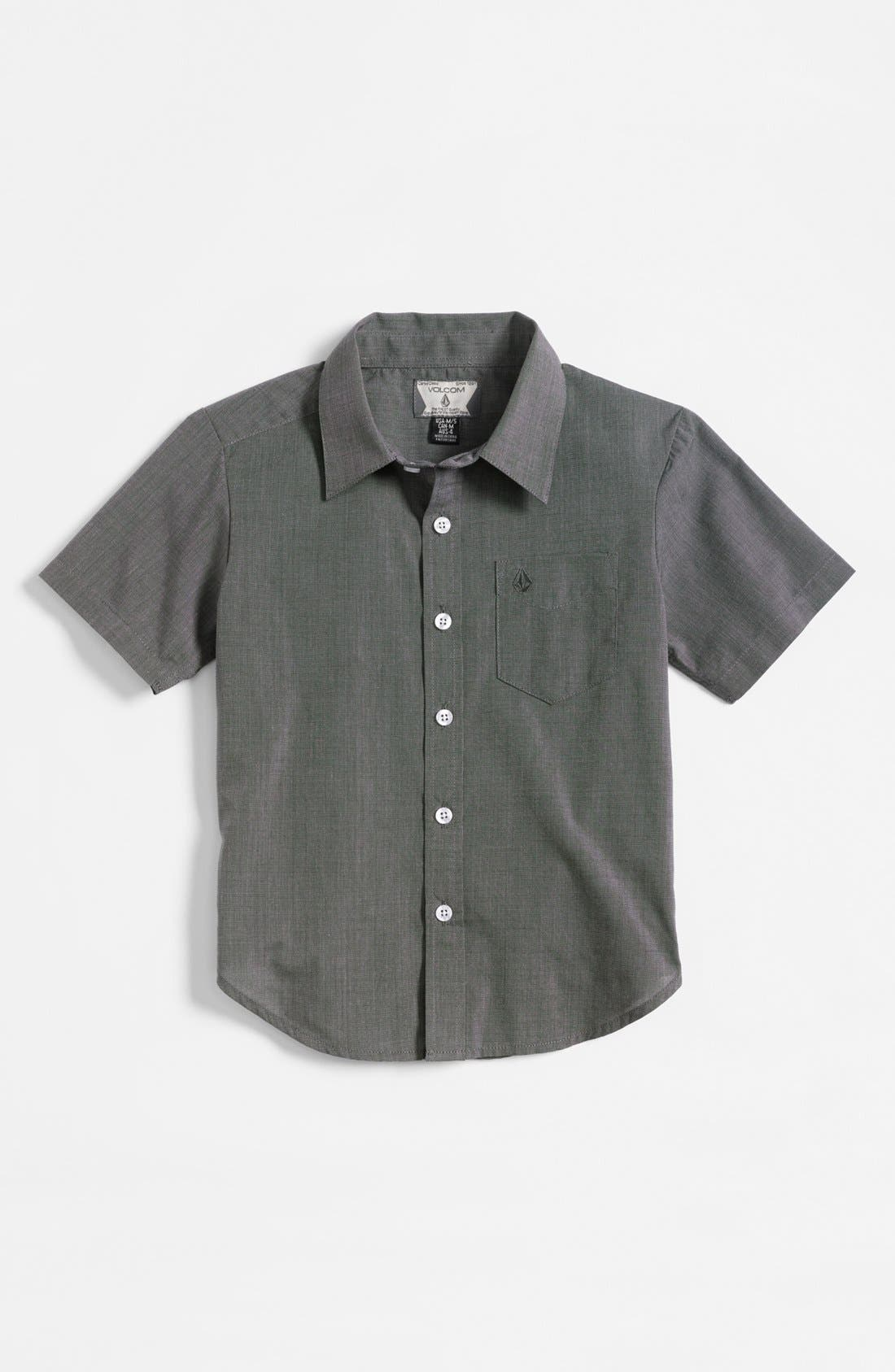 Main Image - Volcom 'Why Factor' Woven Shirt (Big Boys)