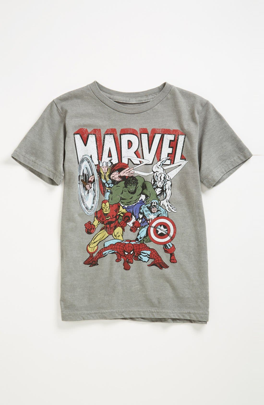Alternate Image 1 Selected - Jem 'Marvel 6th Group' Thermocolor T-Shirt (Little Boys)