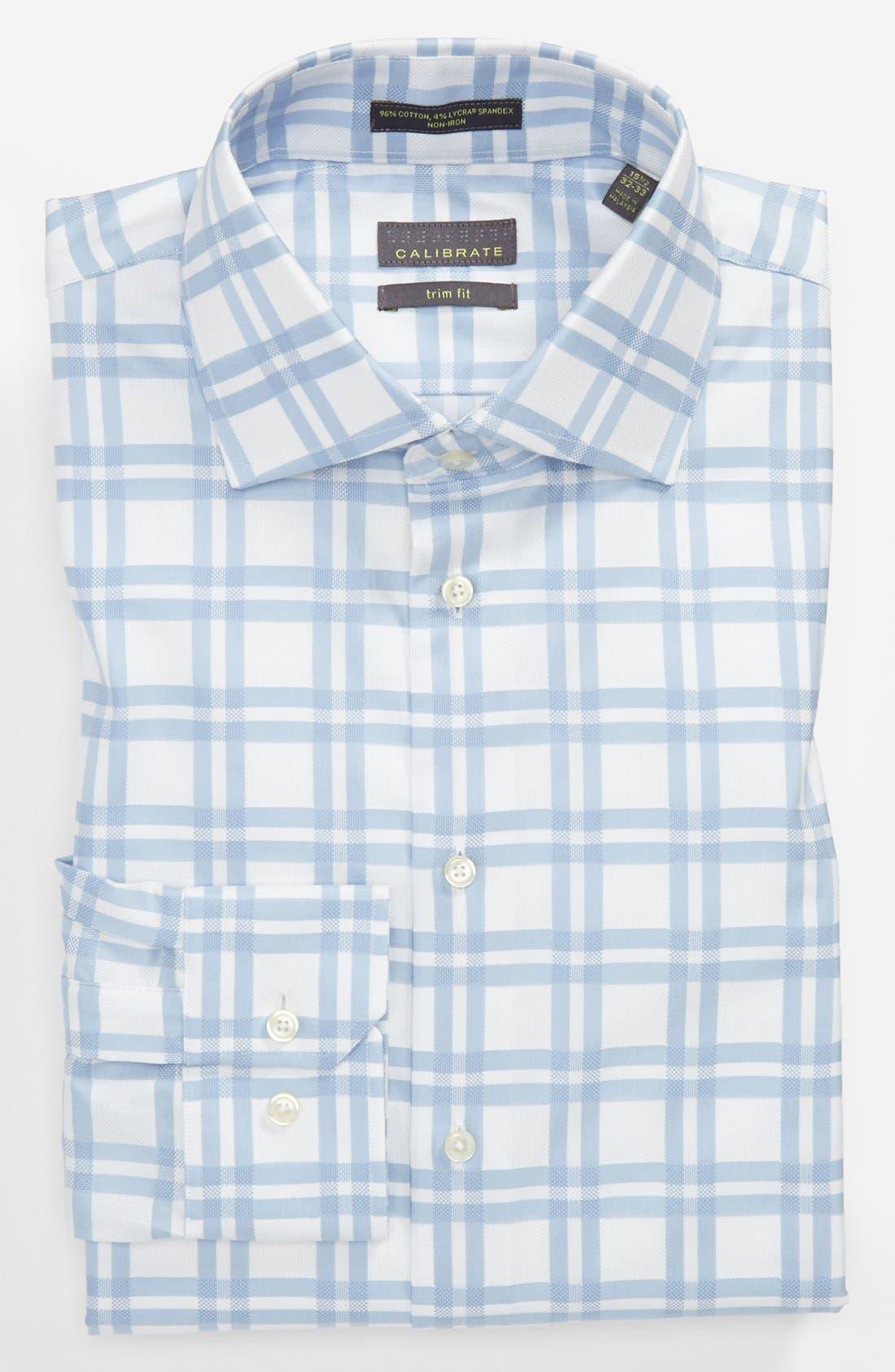 Alternate Image 1 Selected - Calibrate Trim Fit Dress Shirt