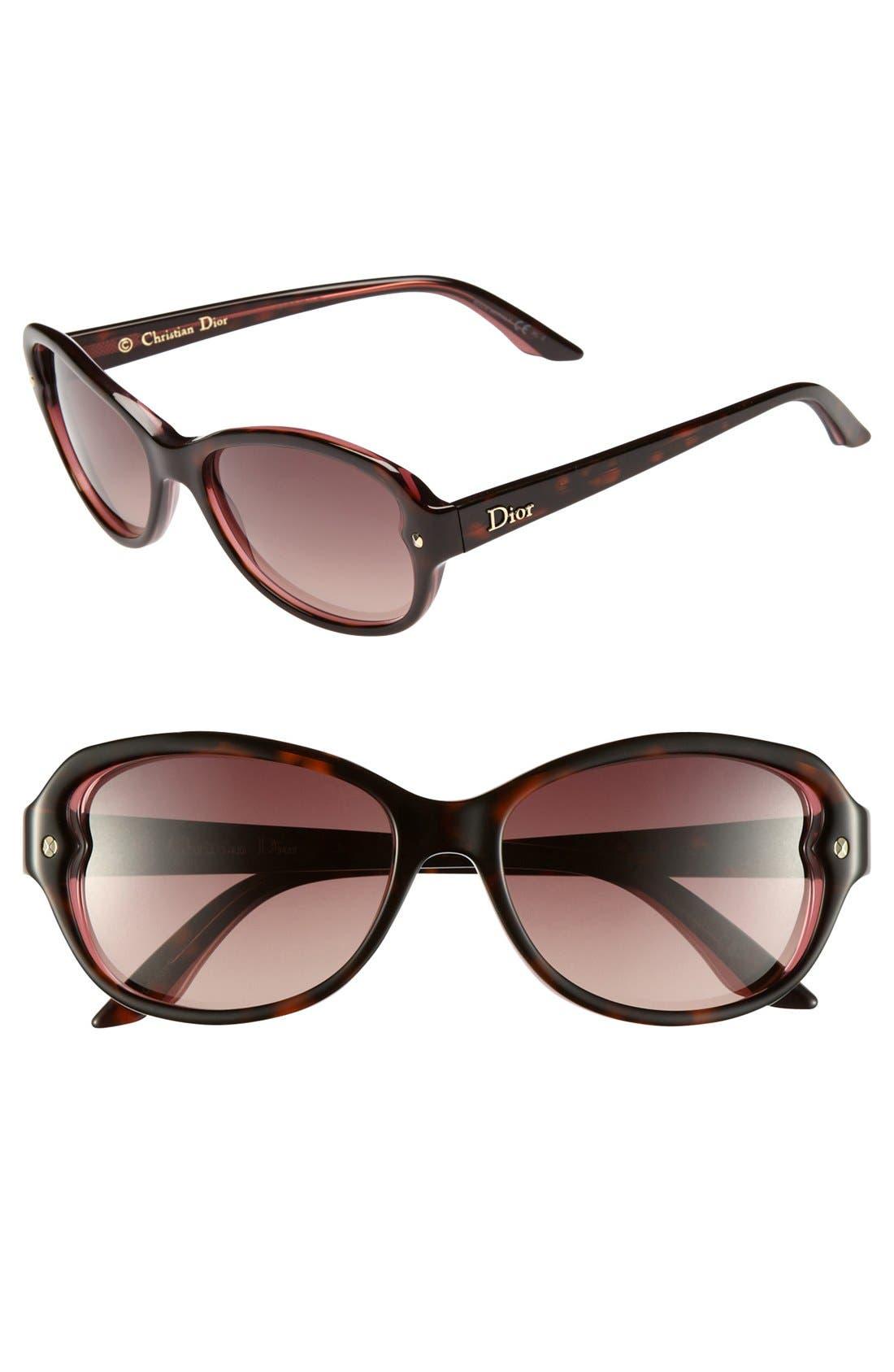 Alternate Image 1 Selected - Christian Dior 'Pondicherry 2/S' 53mm Sunglasses