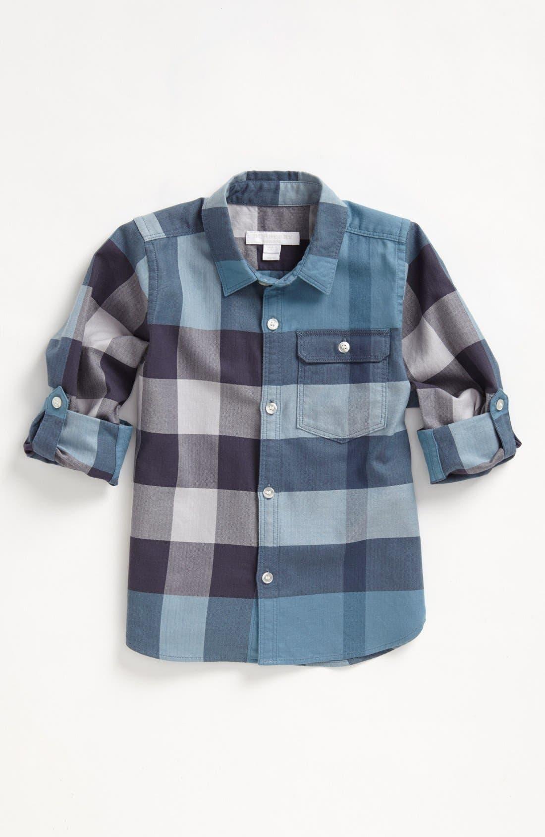 Alternate Image 2  - Burberry 'Mini Hadley' Sport Shirt (Little Boys & Big Boys)