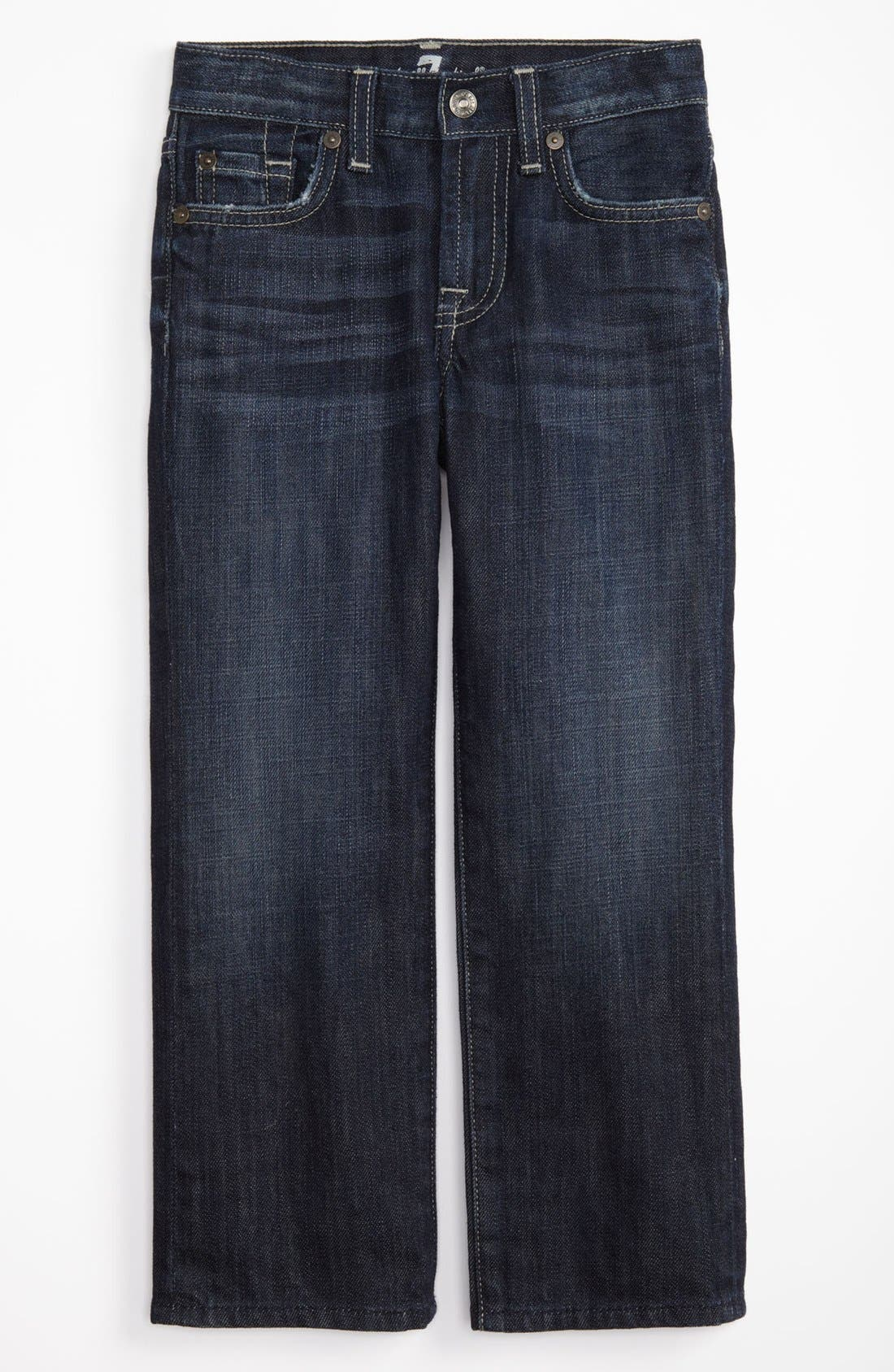 Alternate Image 2  - 7 For All Mankind® 'Standard' Straight Leg Jeans (Little Boys & Big Boys) (Online Only)