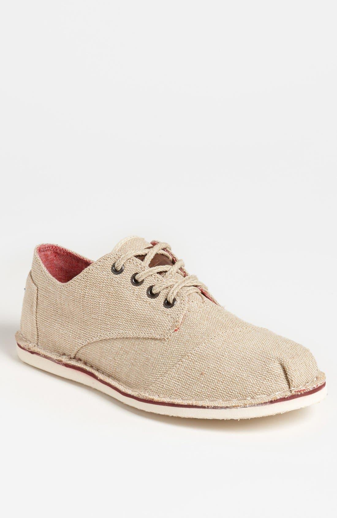 Main Image - TOMS 'Desert' Burlap Sneaker (Men)