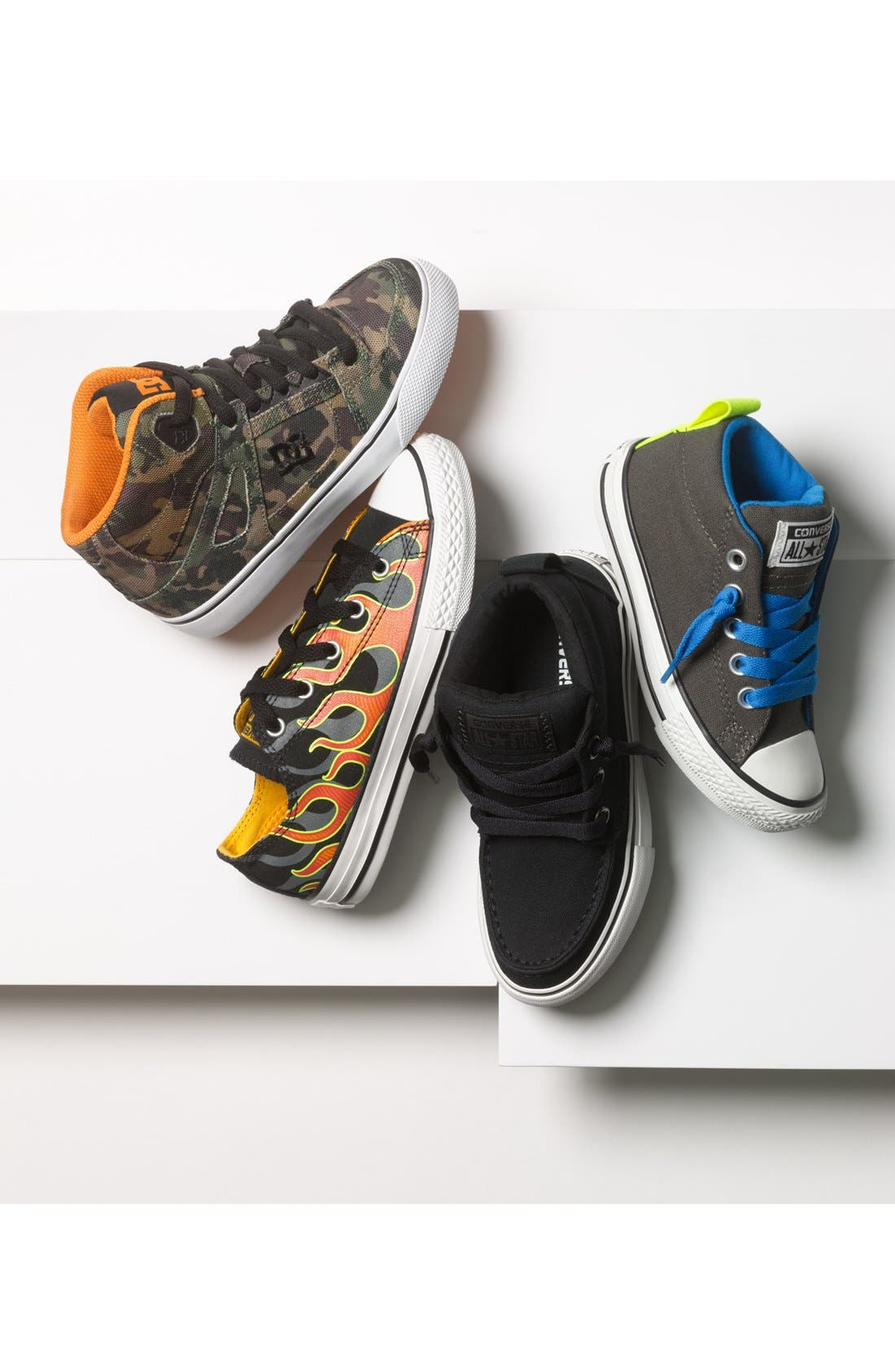 Alternate Image 5  - Converse Chuck Taylor® All Star® 'Chukka' Sneaker (Toddler, Little Kid & Big Kid)
