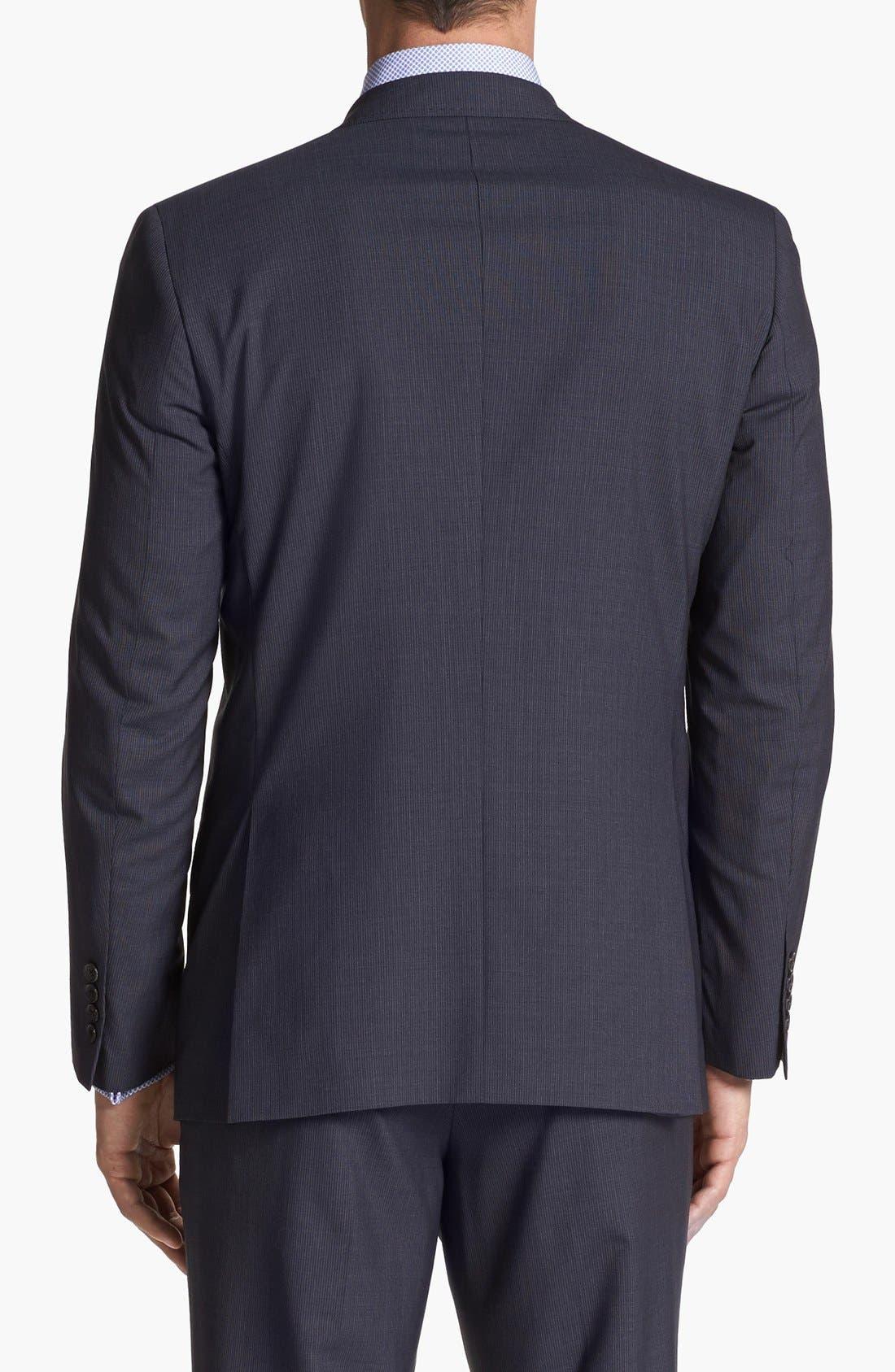 Alternate Image 6  - Ted Baker London 'Jim' Pinstripe Wool Suit