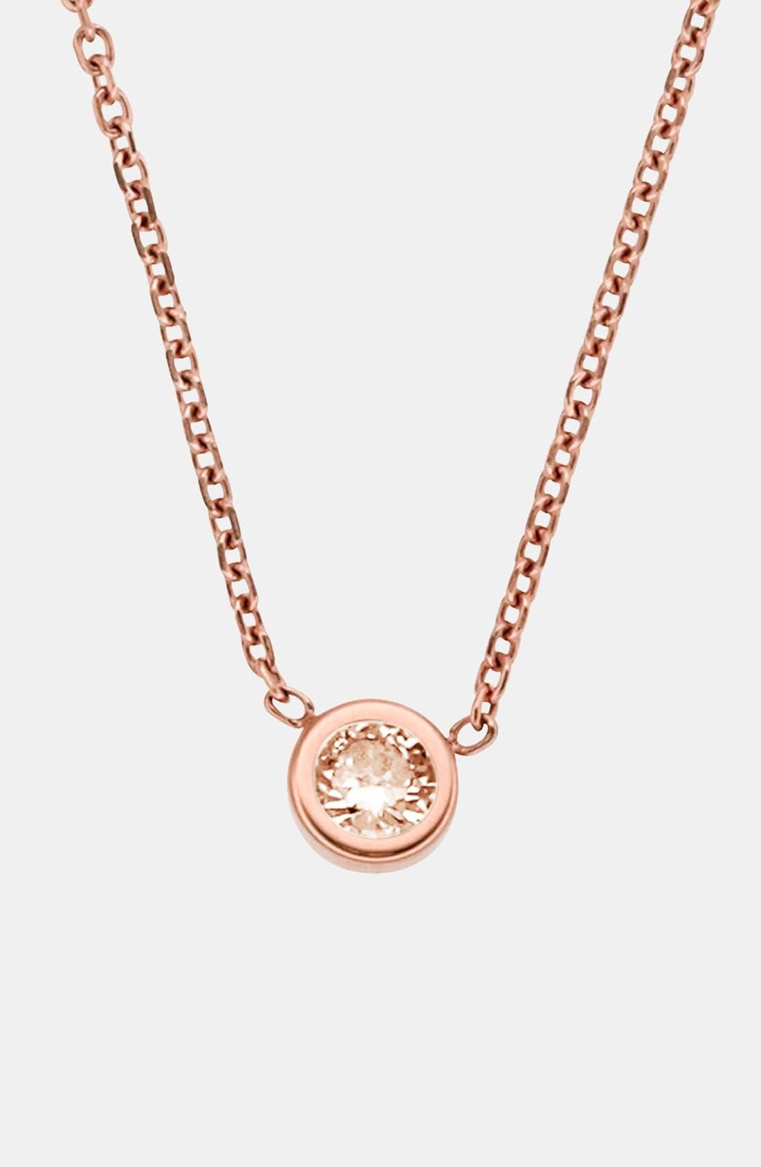 Alternate Image 1 Selected - Michael Kors 'Botanicals' Pendant Necklace