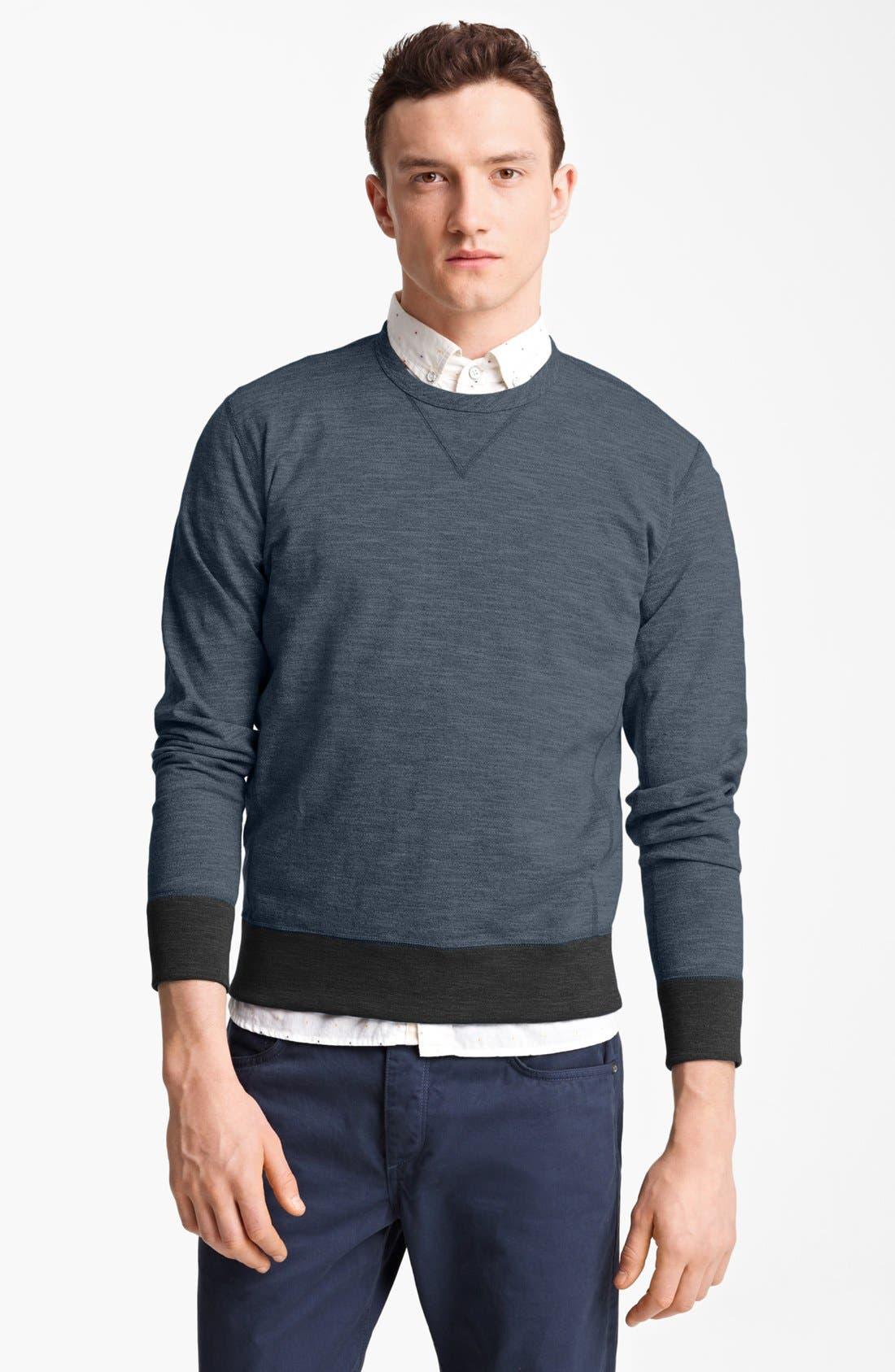 Alternate Image 1 Selected - rag & bone 'Moulinex' Crewneck Sweatshirt