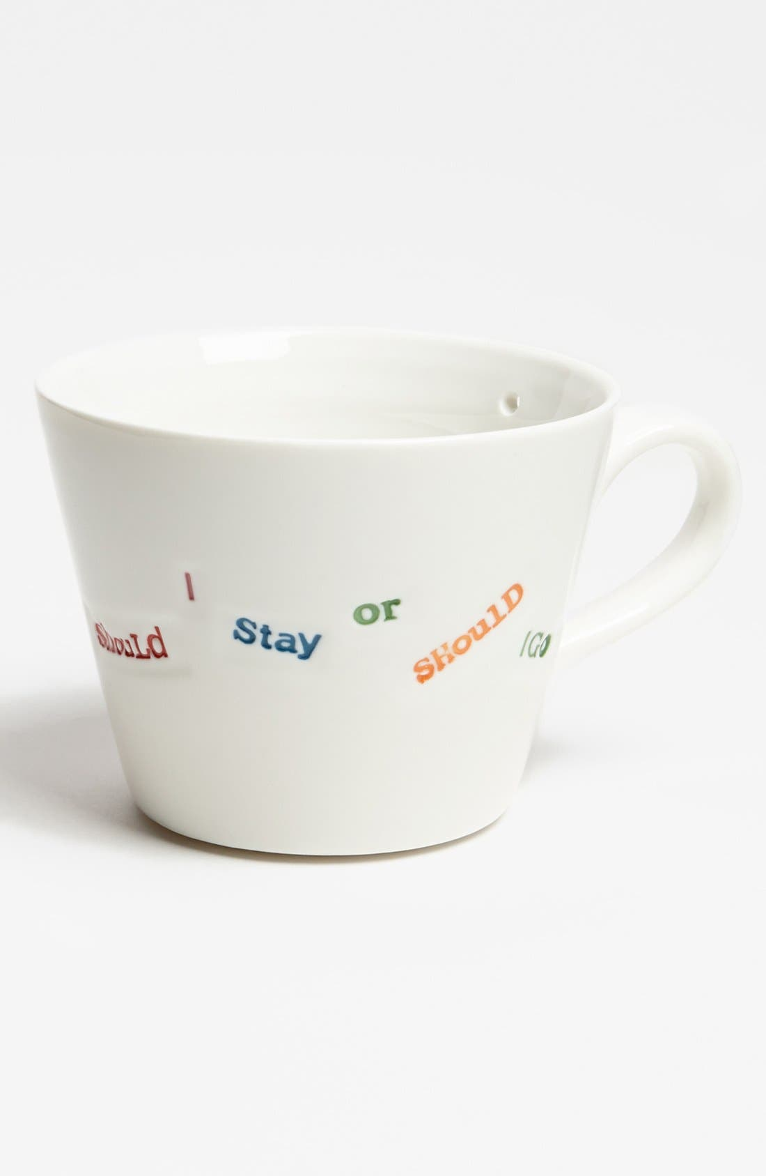 Alternate Image 1 Selected - 'Punk Range - Should I Stay Or Should I Go' Porcelain Mug