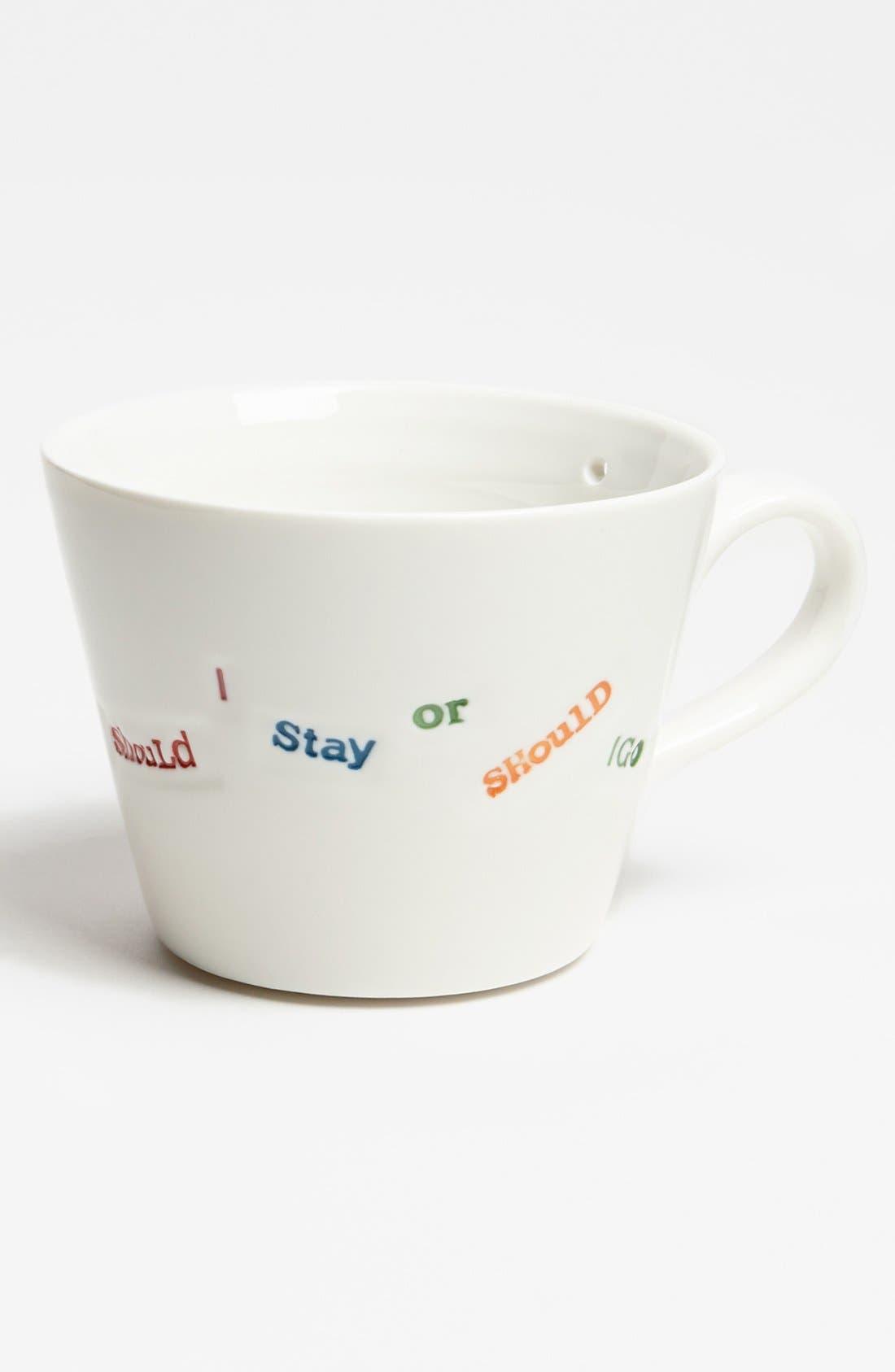 Main Image - 'Punk Range - Should I Stay Or Should I Go' Porcelain Mug