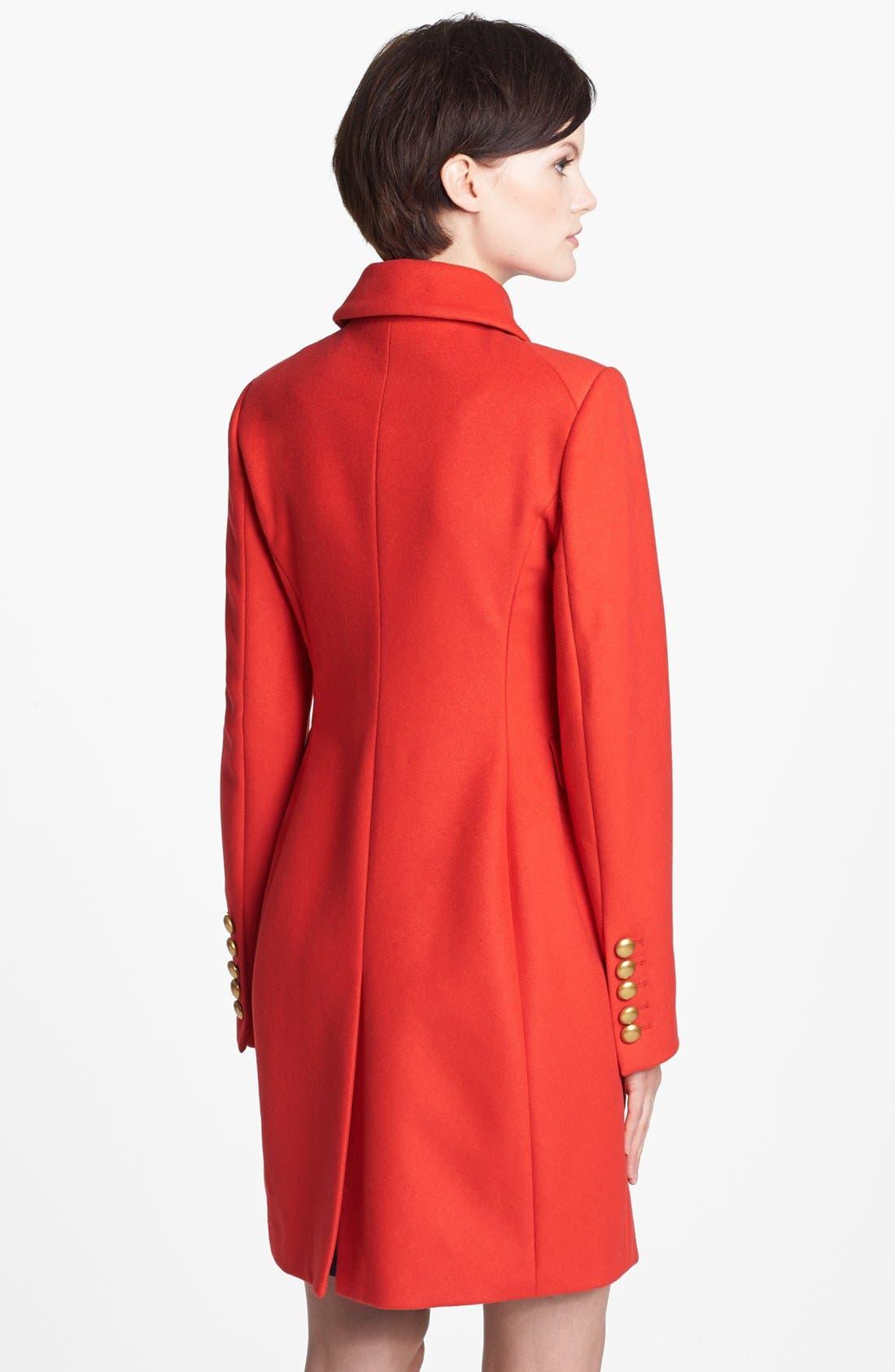 Alternate Image 2  - MARC BY MARC JACOBS 'Nicoletta' Wool Blend Coat
