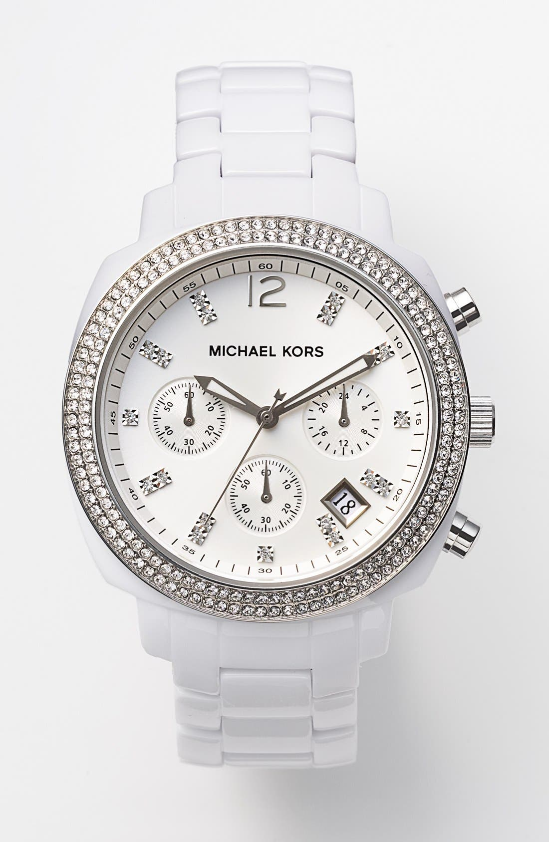 Alternate Image 4  - Michael Kors 'Wolcott' Chronograph Bracelet Watch, 41mm