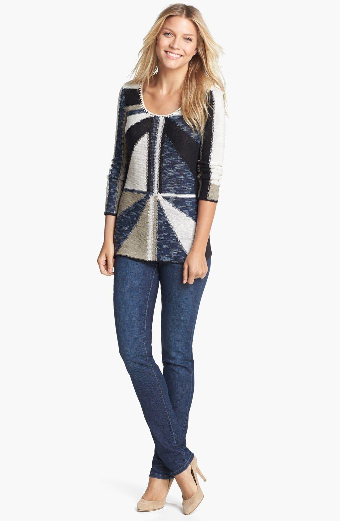 Alternate Image 3  - NIC+ZOE 'Triangle' Sweater