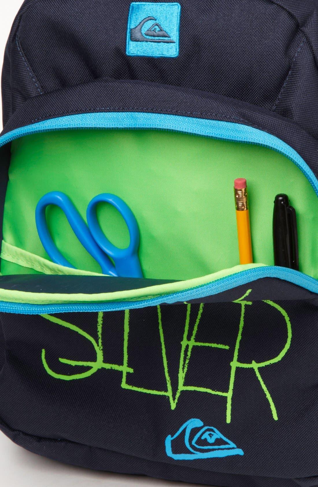Alternate Image 4  - Quiksilver 'Ankle Biter B' Backpack (Boys)