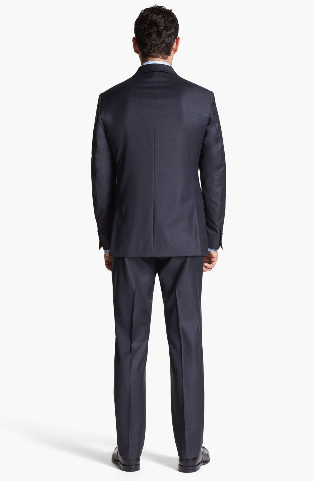 Alternate Image 3  - Michael Kors Trim Fit Wool Suit