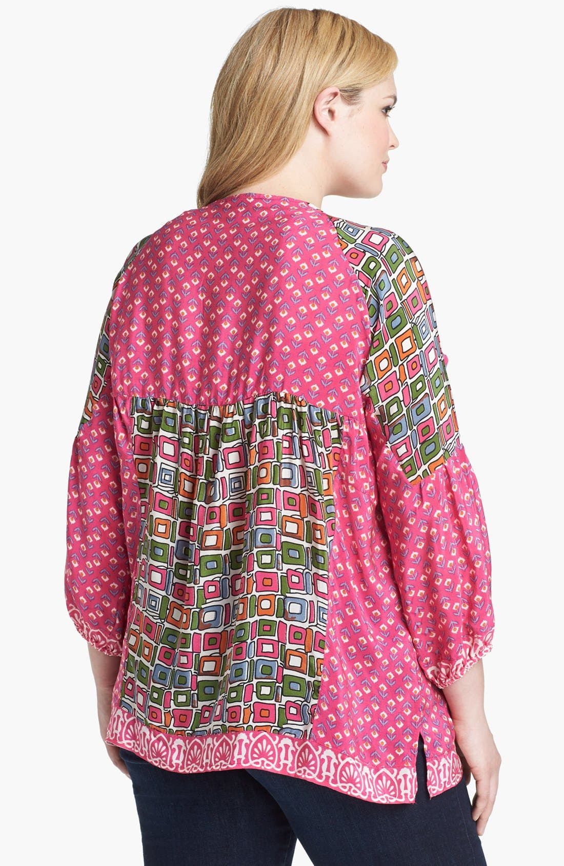 Alternate Image 2  - Tolani 'Phoebe' Tunic (Plus Size)
