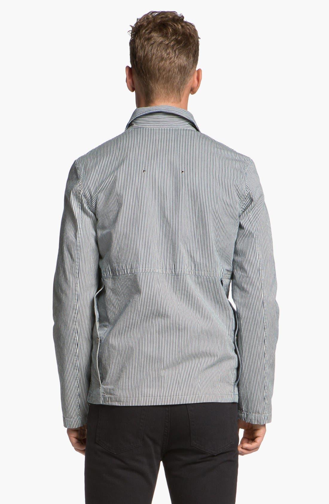 Alternate Image 2  - A.P.C. Canvas Field Jacket