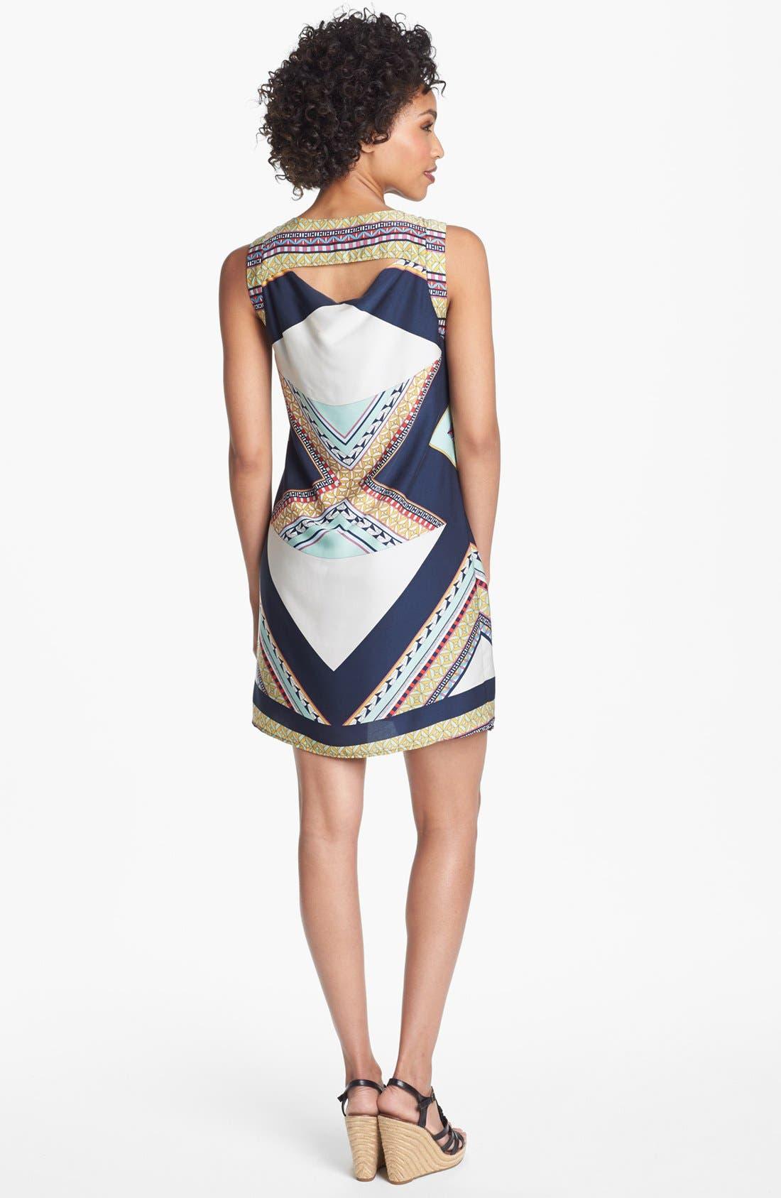 Alternate Image 2  - Collective Concepts Print Shift Dress