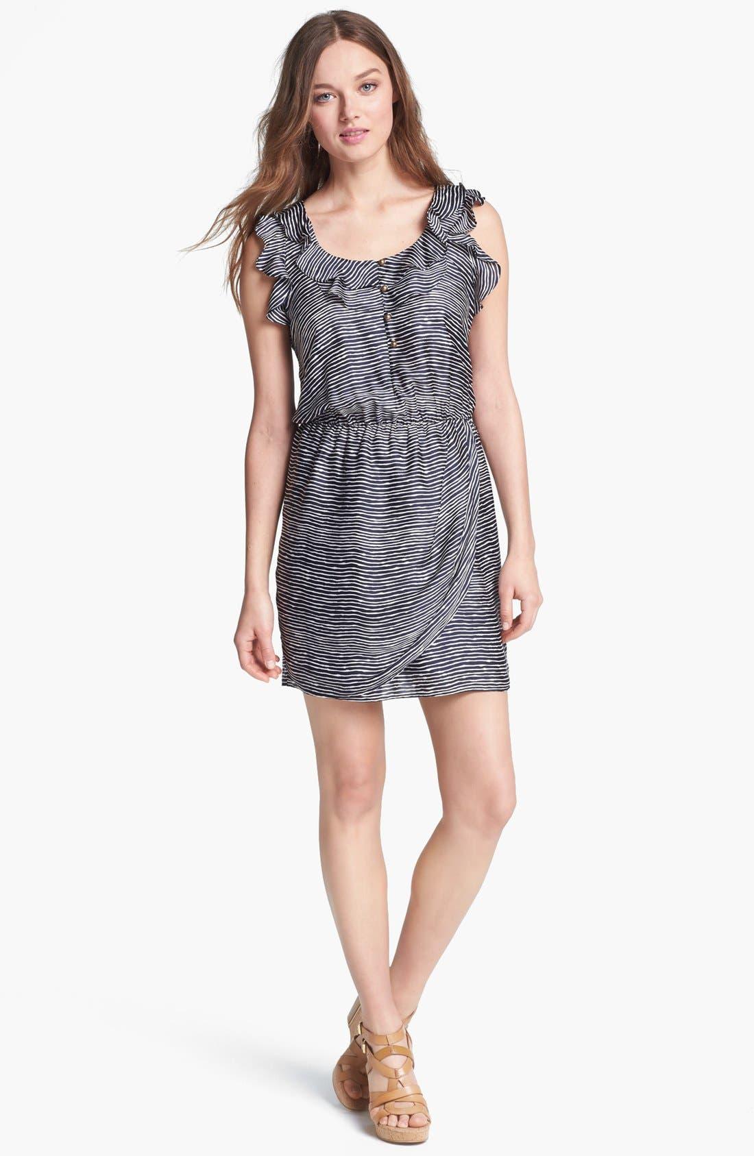 Main Image - Collective Concepts Ruffled Blouson Dress
