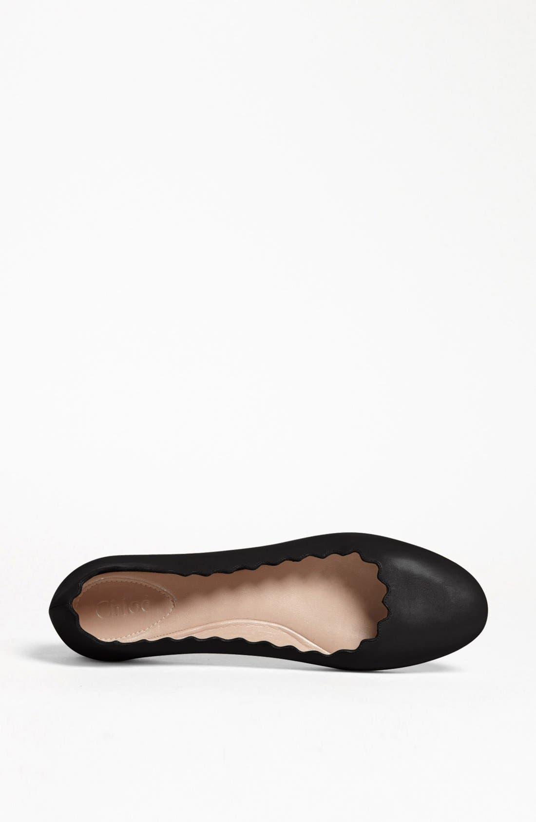 Alternate Image 3  - Chloé 'Lauren' Ballerina Flat