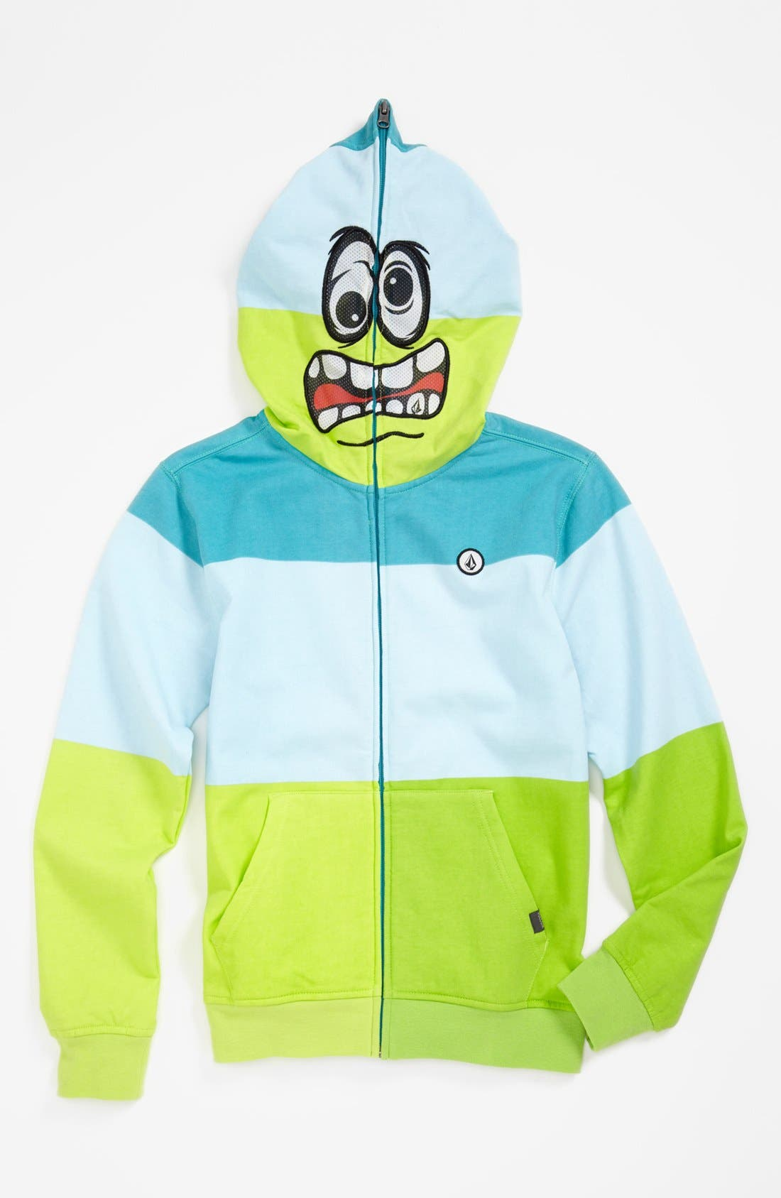 Alternate Image 2  - Volcom 'Booster' Mask Hoodie (Big Boys)