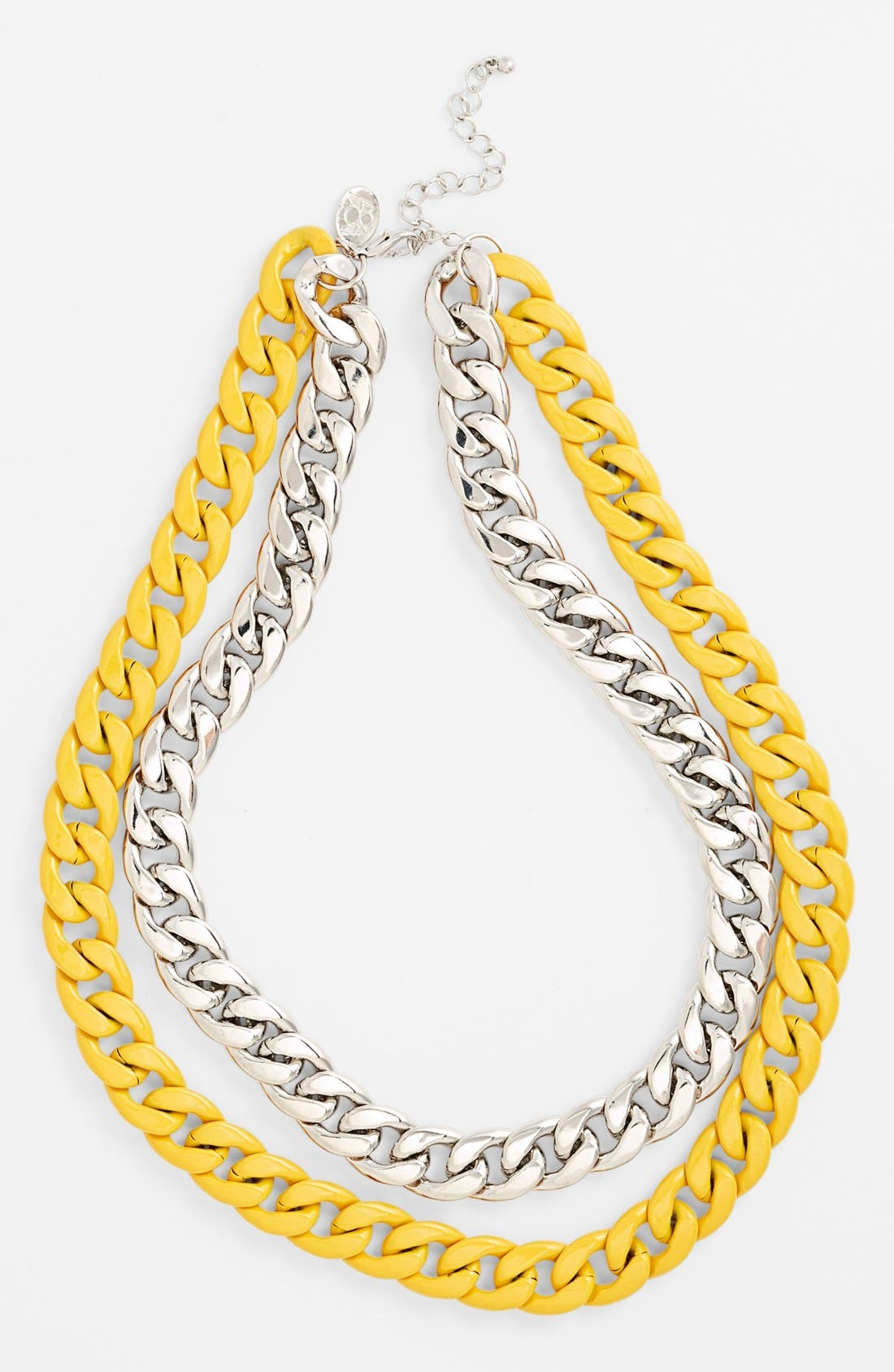 Alternate Image 1 Selected - 8 Other Reasons 'Swallow Your Pride' Double Chain Necklace
