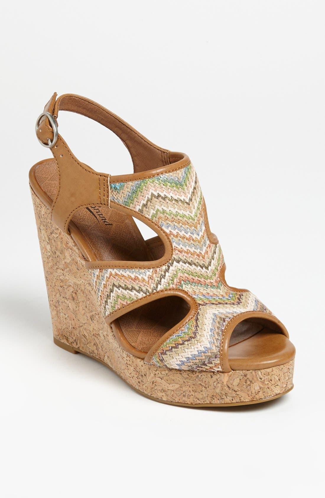 Alternate Image 1 Selected - Lucky Brand 'Riedel' Wedge Sandal