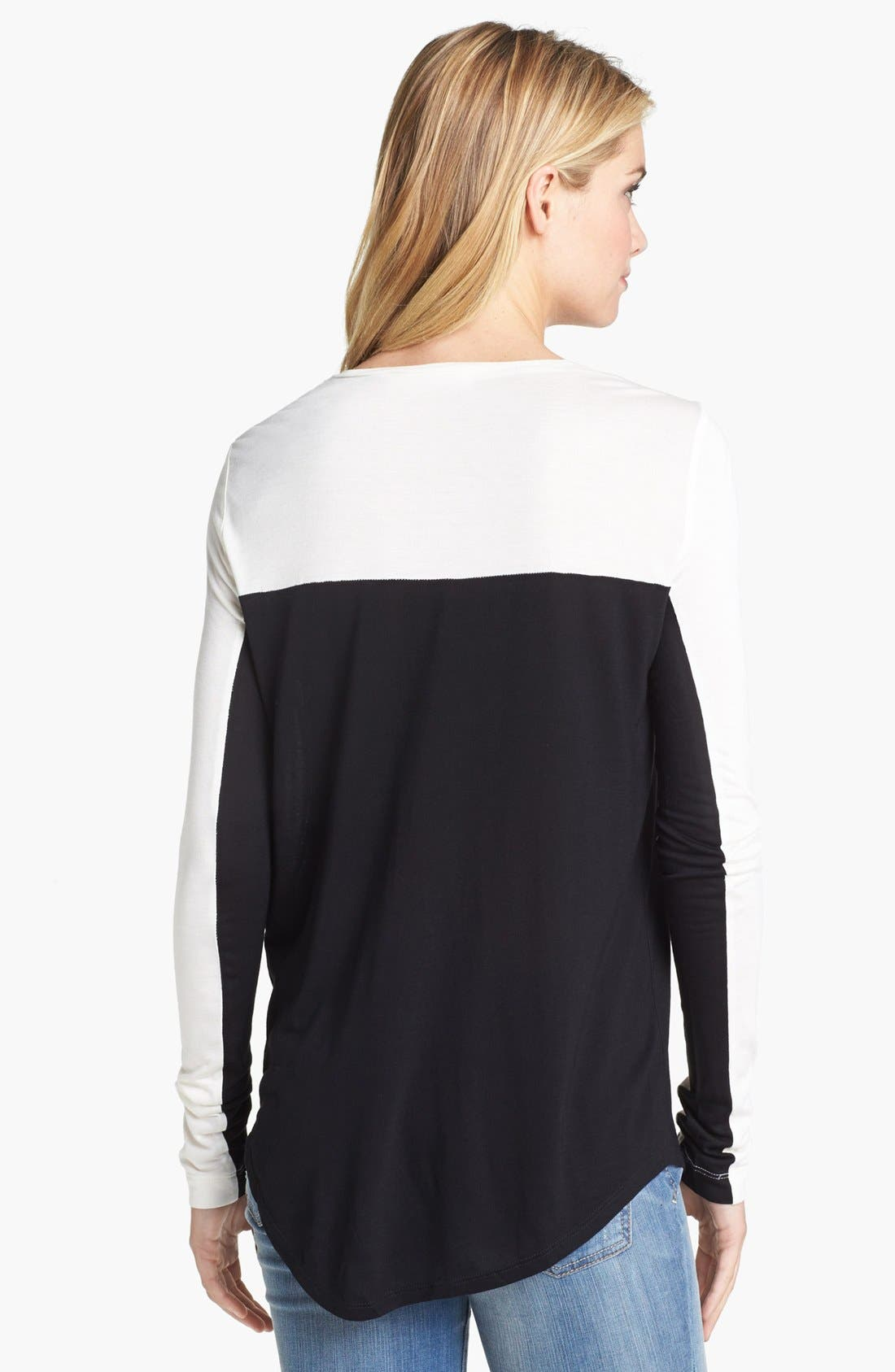 Alternate Image 2  - Two by Vince Camuto Colorblock Top