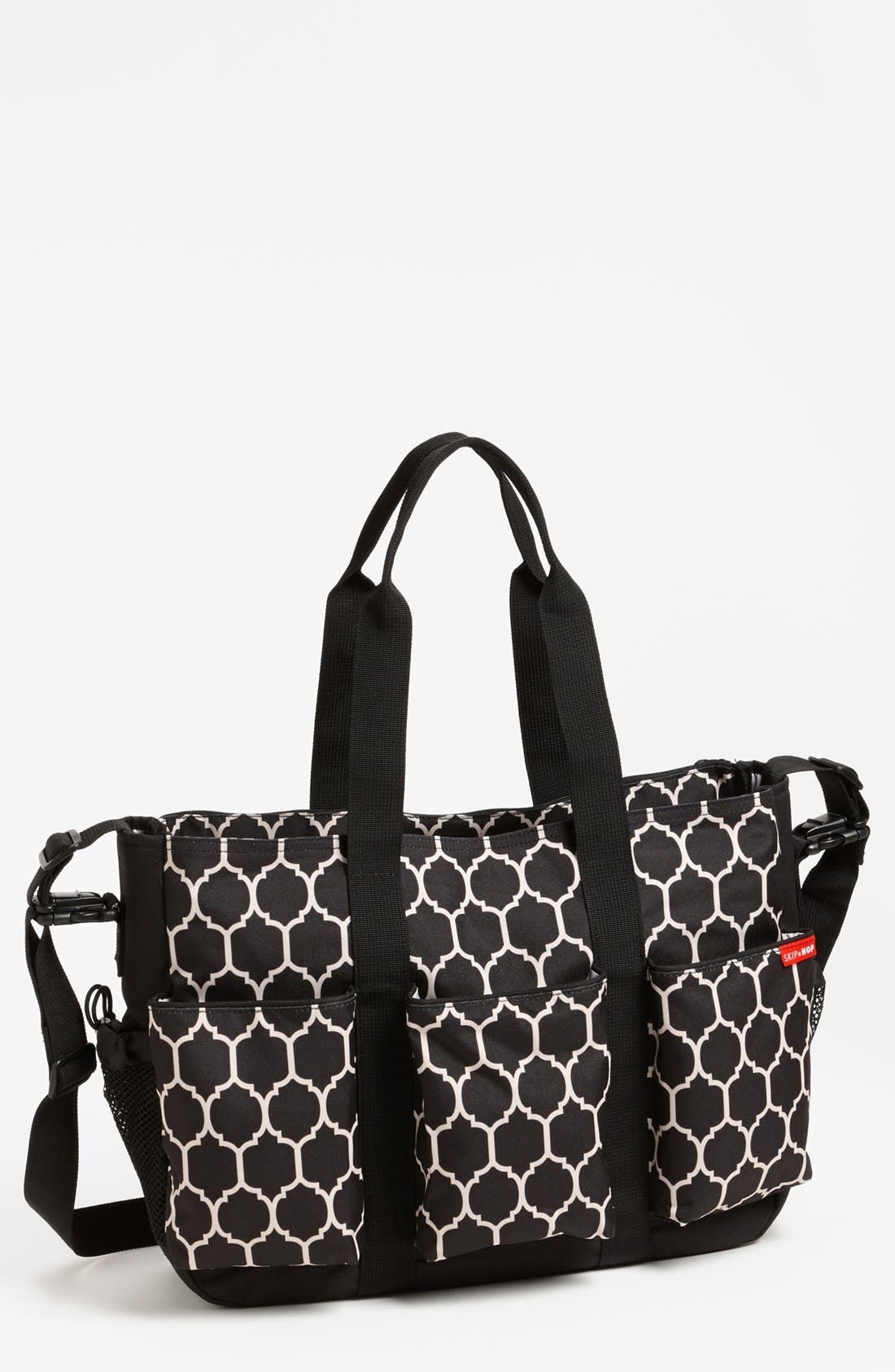Alternate Image 4  - Skip Hop 'Duo Double Hold-It-All' Diaper Bag
