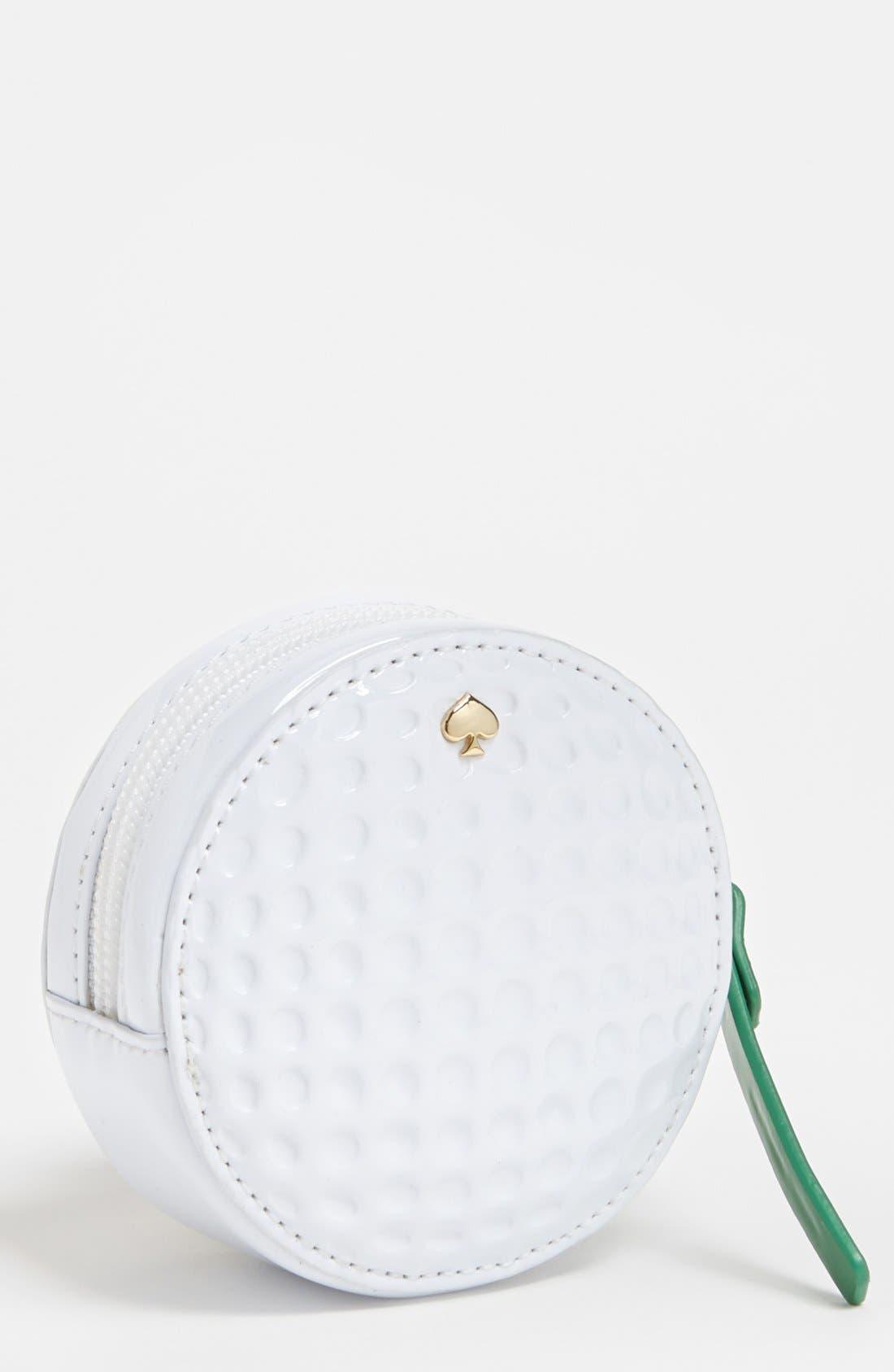 Main Image - kate spade new york 'golf ball' coin purse