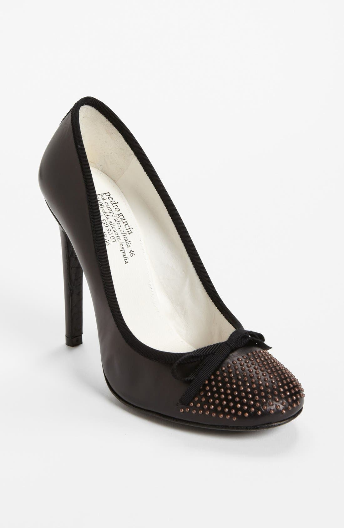 Alternate Image 1 Selected - Pedro Garcia 'Gemma - Microstud' Pump (Nordstrom Exclusive)