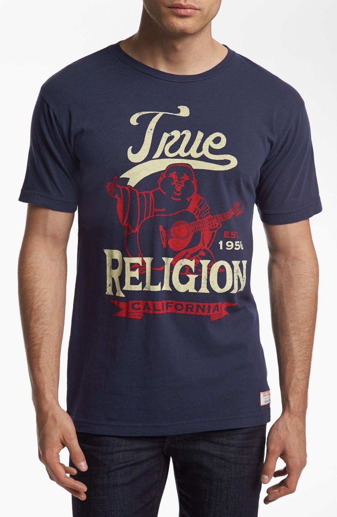 Alternate Image 1 Selected - True Religion Brand Jeans 'Sport' T-Shirt