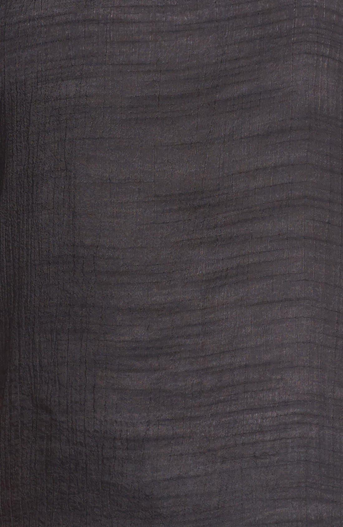 Alternate Image 3  - Painted Threads Crinkled Tee (Juniors Plus)