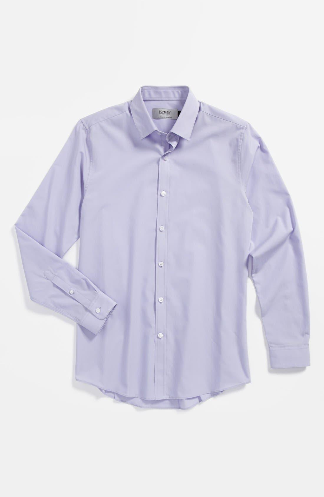 Alternate Image 1 Selected - Topman 'Smart' Dress Shirt