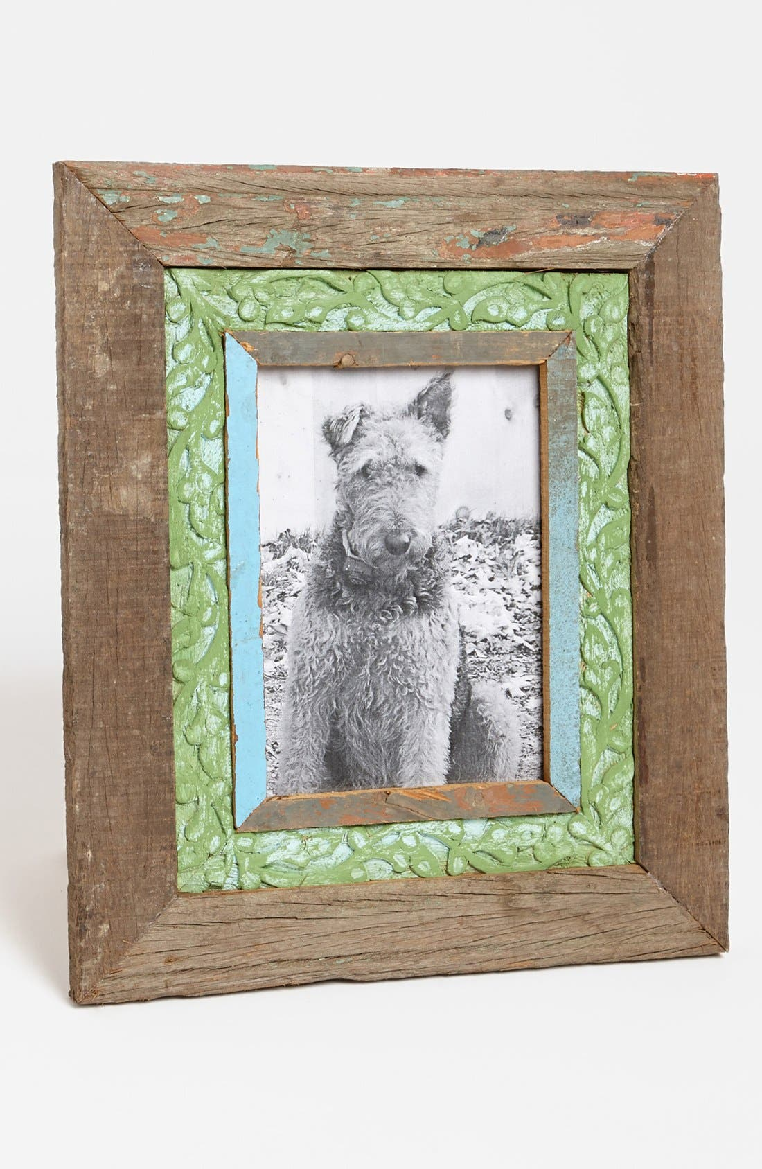 Main Image - Recycled Wood Picture Frame, Large (5x7)