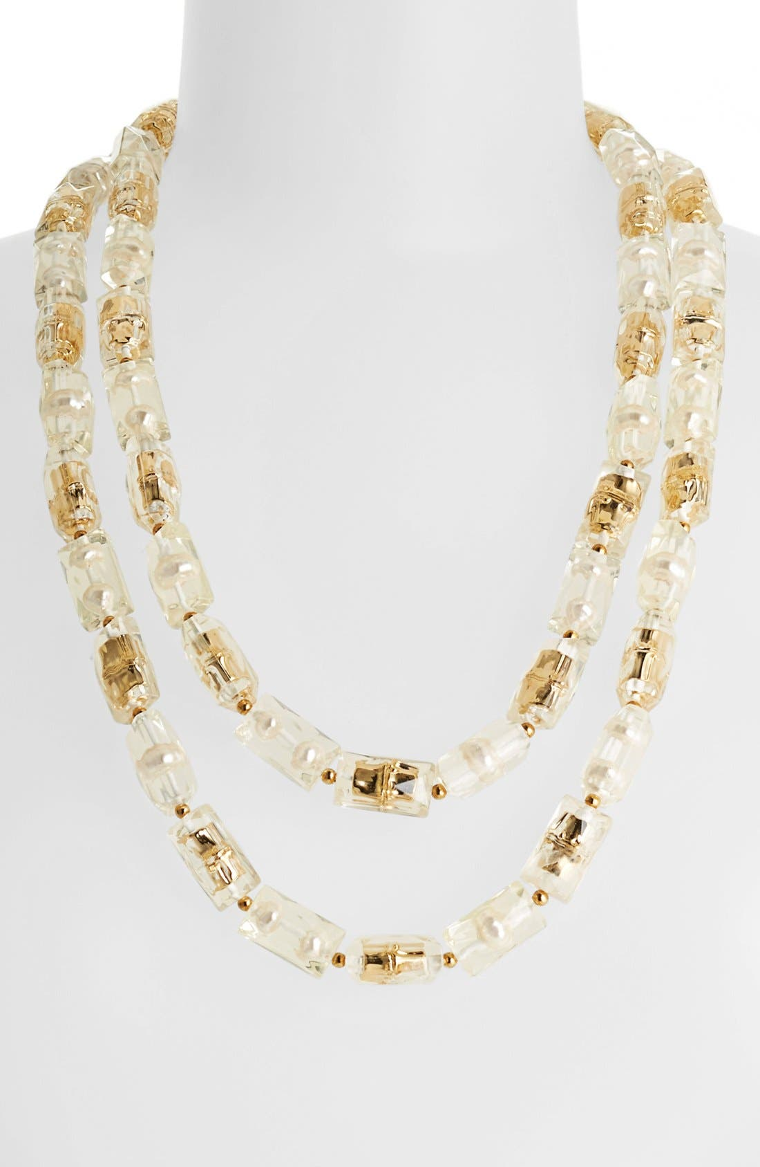 Main Image - kate spade new york 'bamboo park' extra long beaded necklace