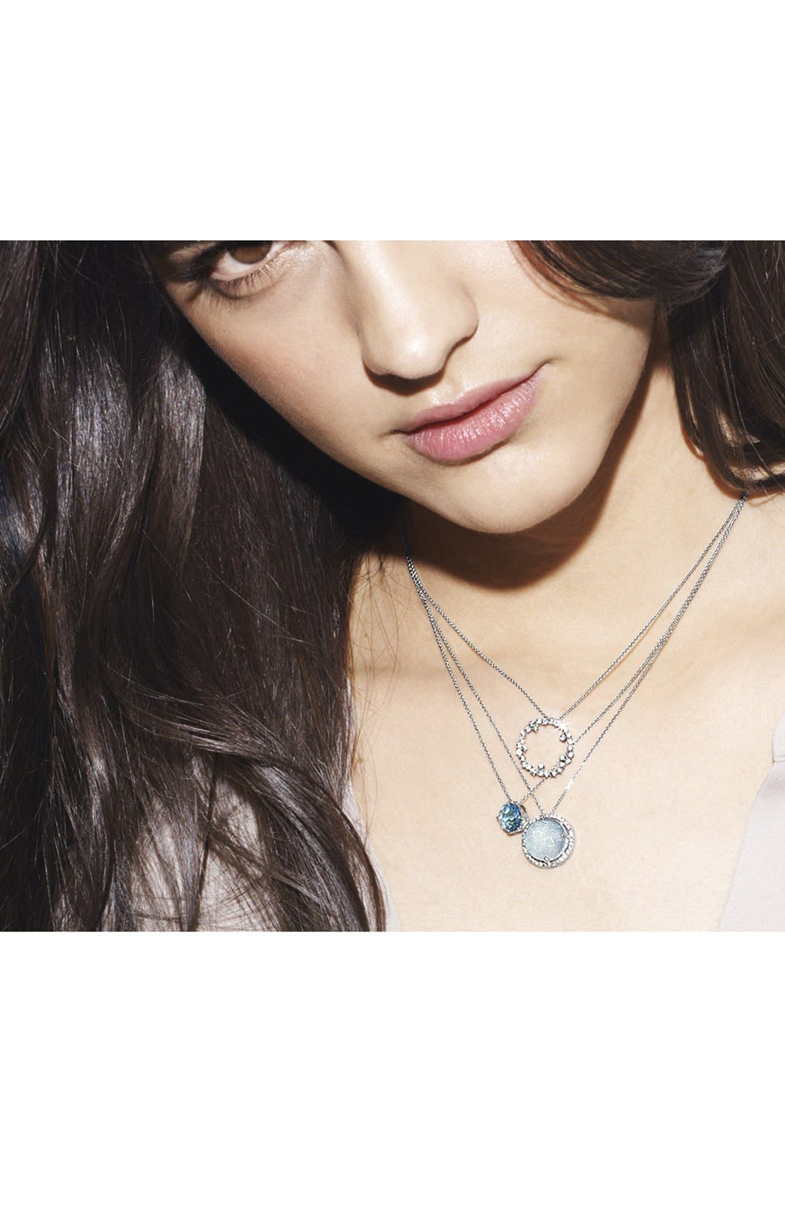 Alternate Image 3  - KALAN by Suzanne Kalan Stone & Sapphire Pendant Necklace