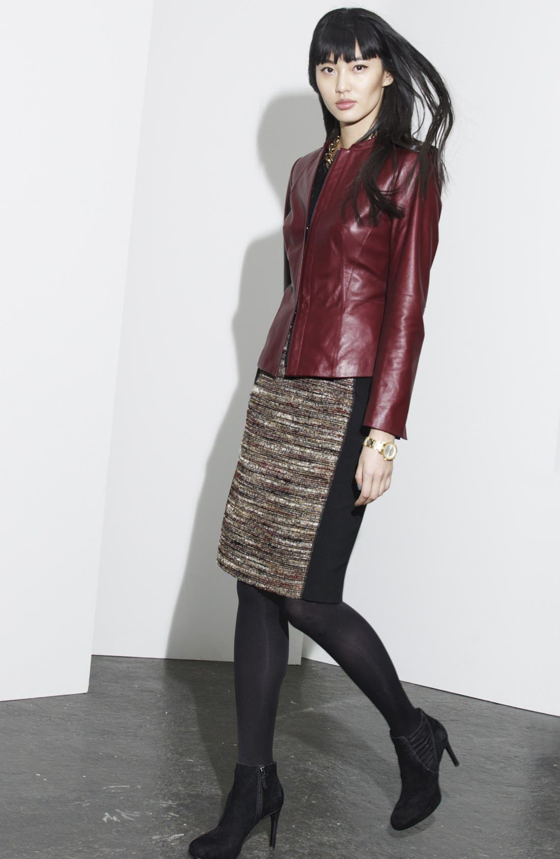 Main Image - Lafayette 148 New York Jacket, Tank & Skirt