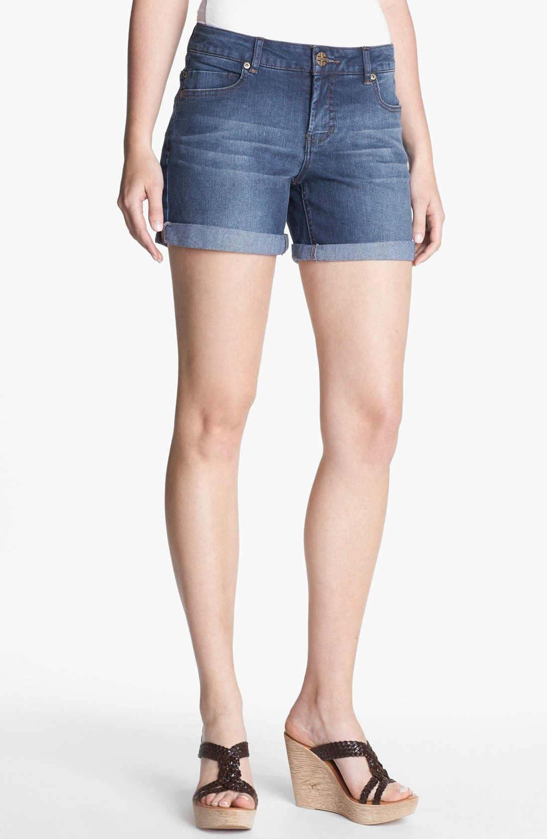 Alternate Image 1 Selected - Liverpool Jeans Company 'Linda' Denim Shorts