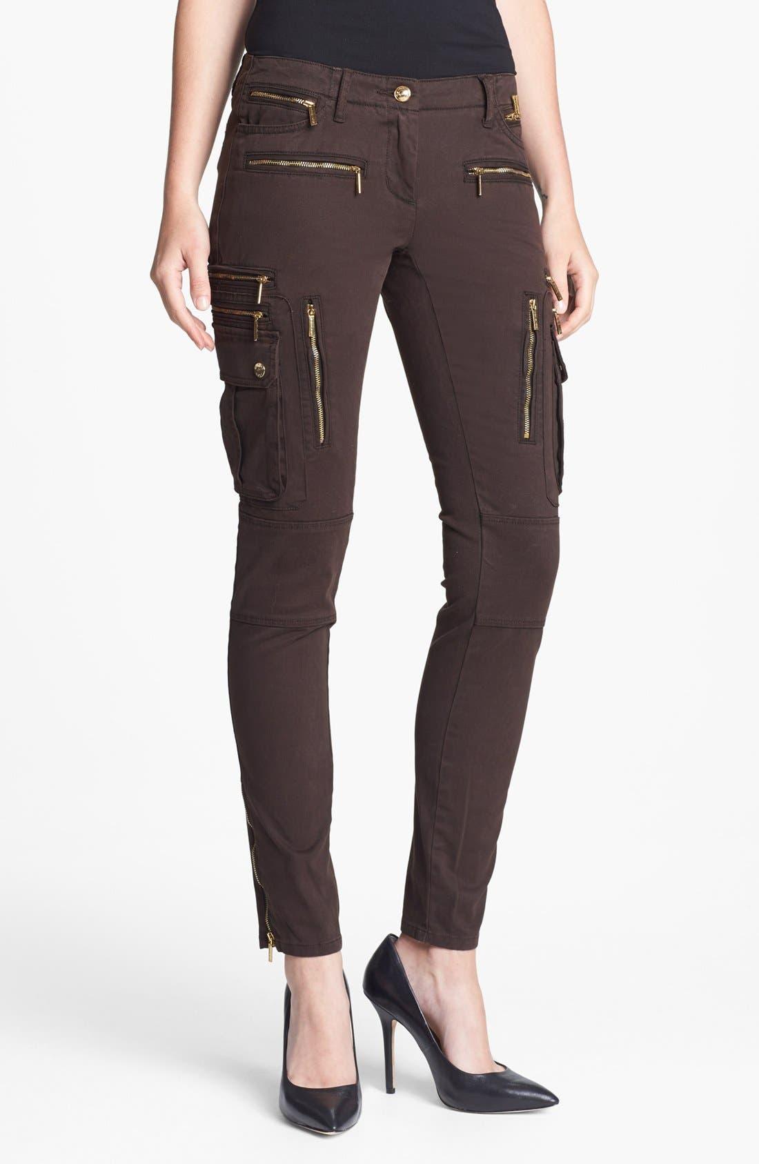 Alternate Image 1 Selected - MICHAEL Michael Kors Skinny Cargo Pants