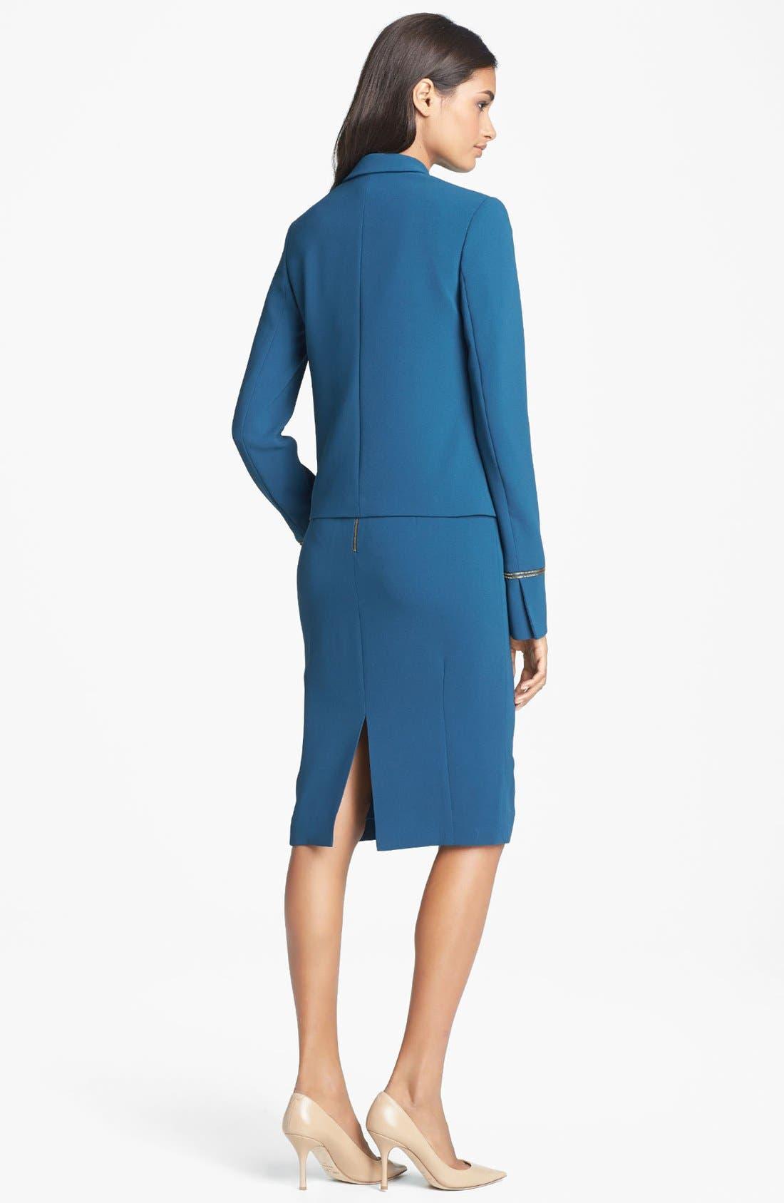 Alternate Image 2  - Rachel Roy Fitted Crepe Jacket