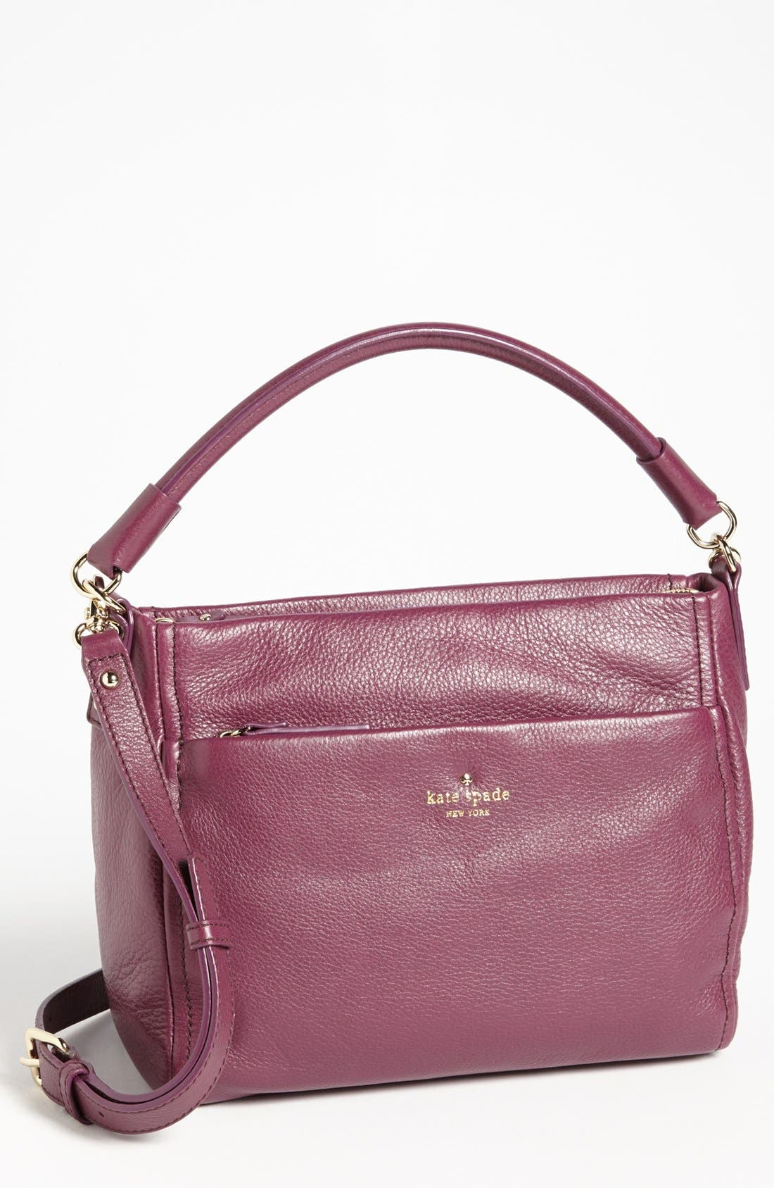 Alternate Image 1 Selected - kate spade new york 'cobble hill - little curtis' leather crossbody bag
