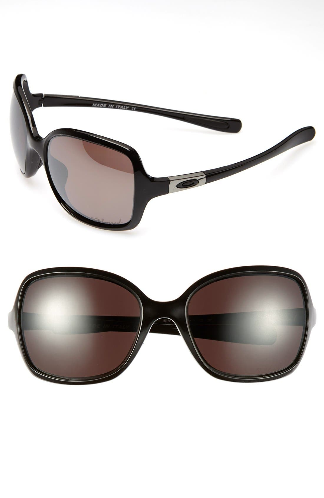Alternate Image 1 Selected - Oakley 'Obsessed' 57mm Polarized Sunglasses