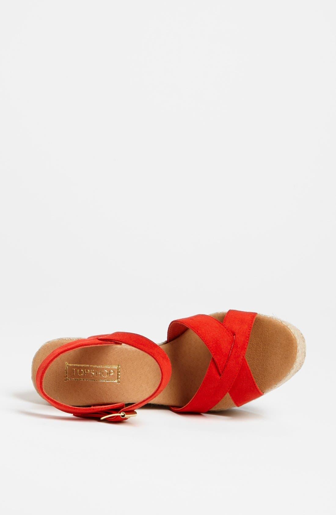 Alternate Image 3  - Topshop 'Whispered' Sandal